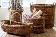 Baskets | Kosarak | Körbe / by Nanon // NanonArt