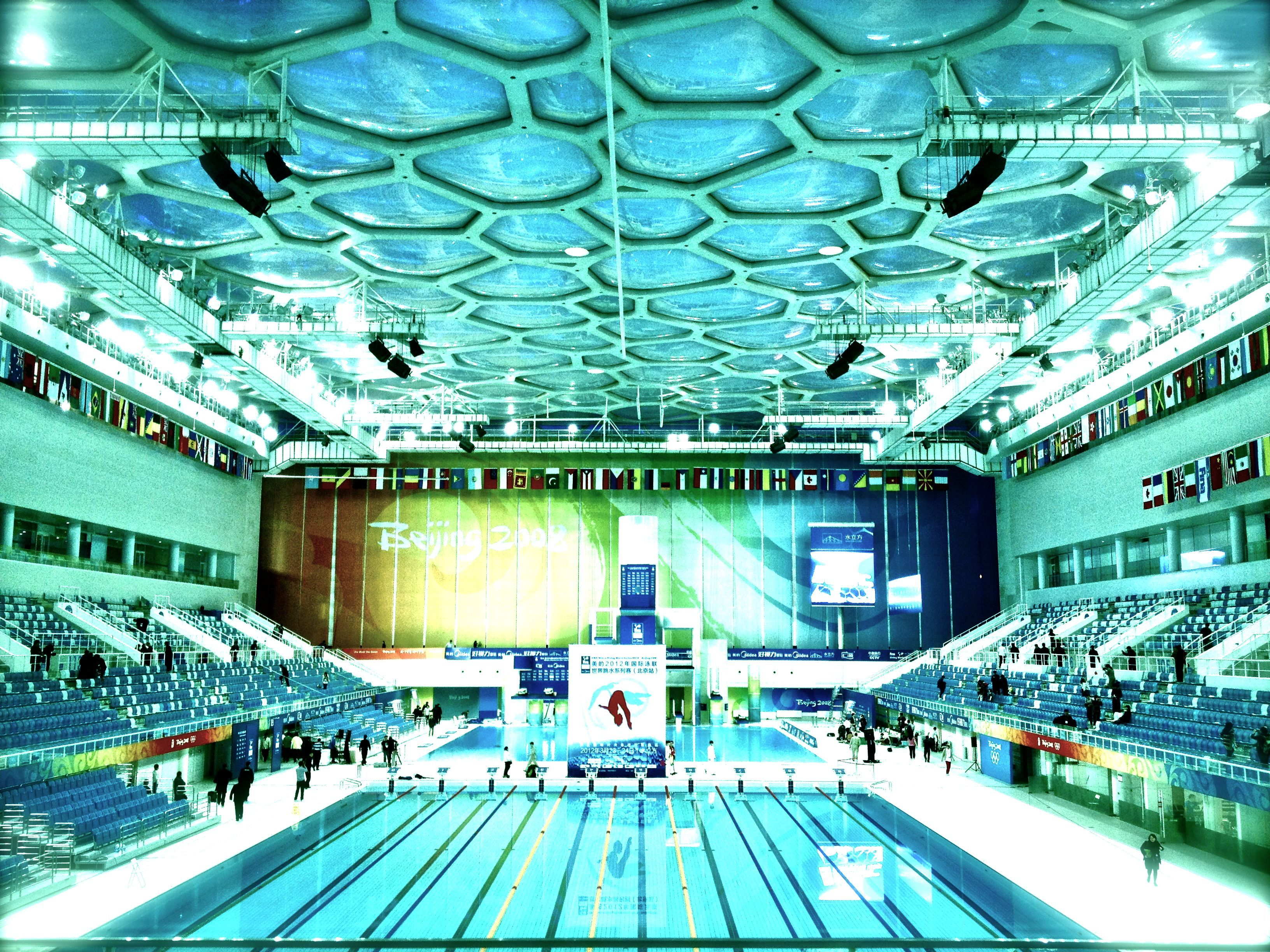Beijing olympic swimming pool swimming quotes pinterest - Olympic swimming pool ...