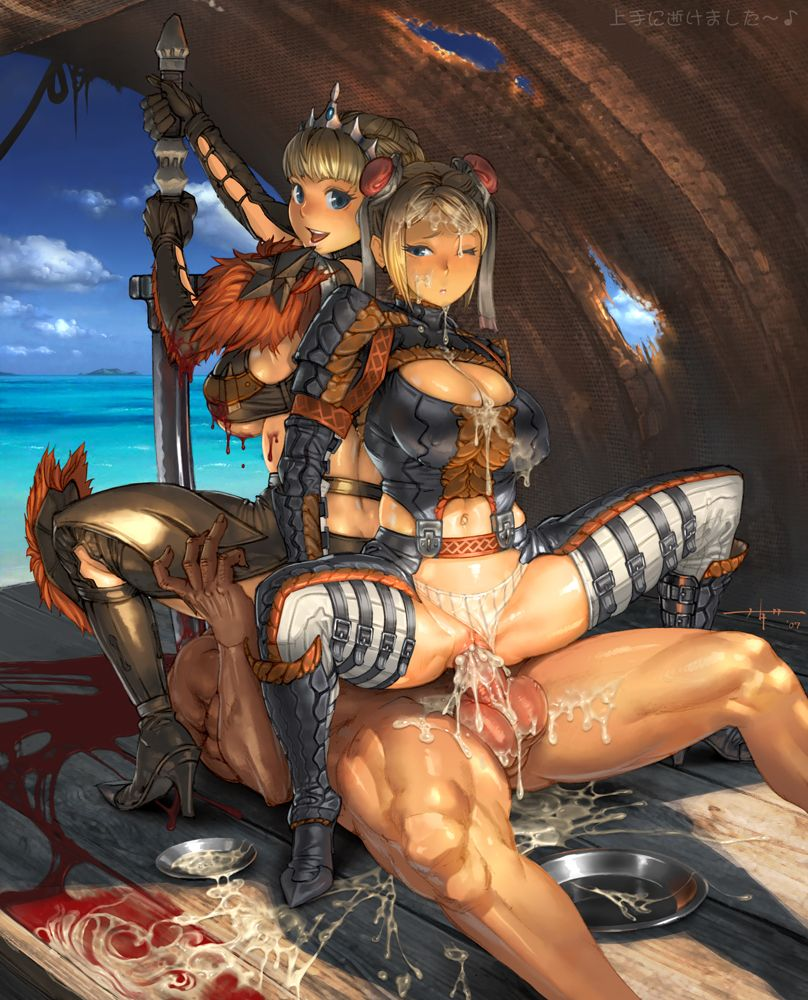 Monster hunter sex pictures fucked photos
