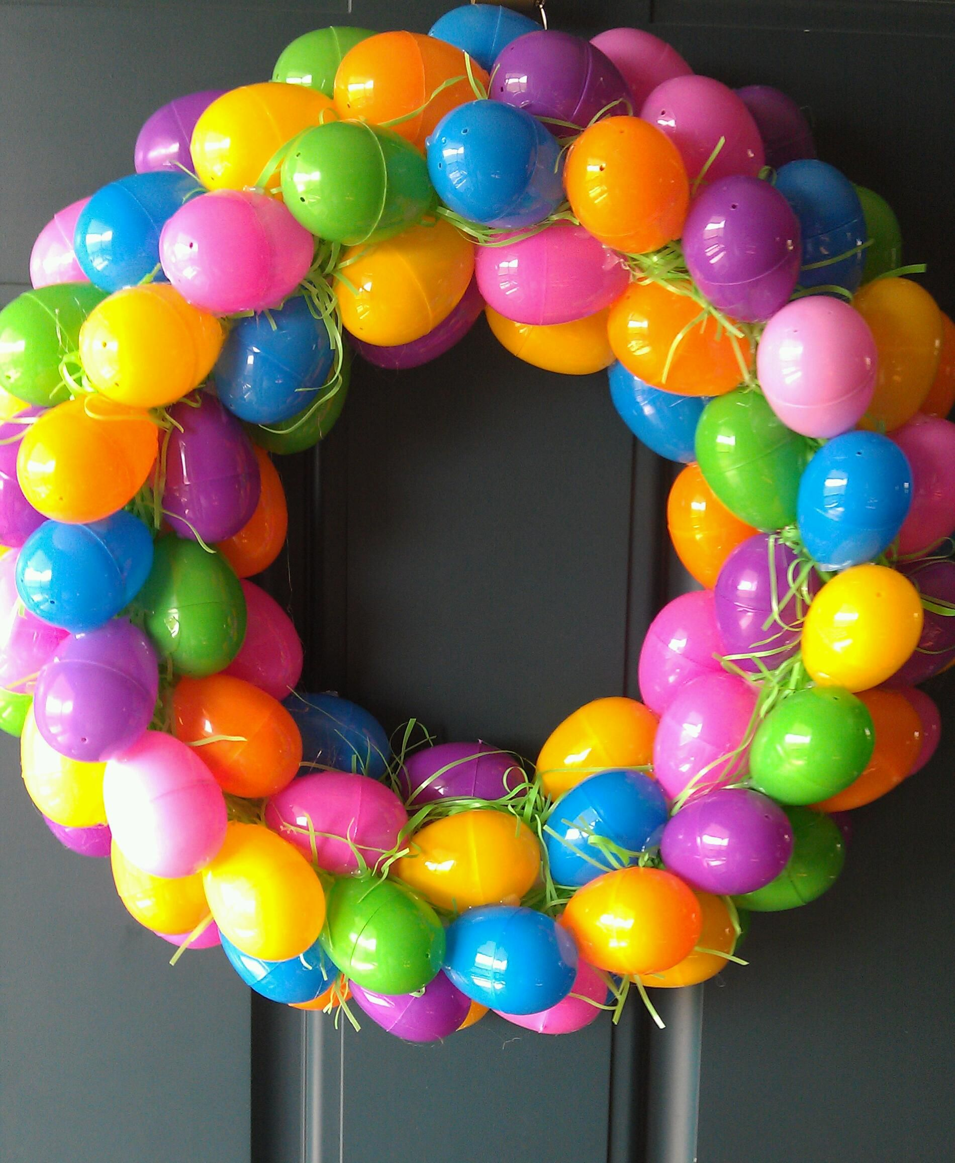 Easter Egg Wreath | Wreaths | Pinterest