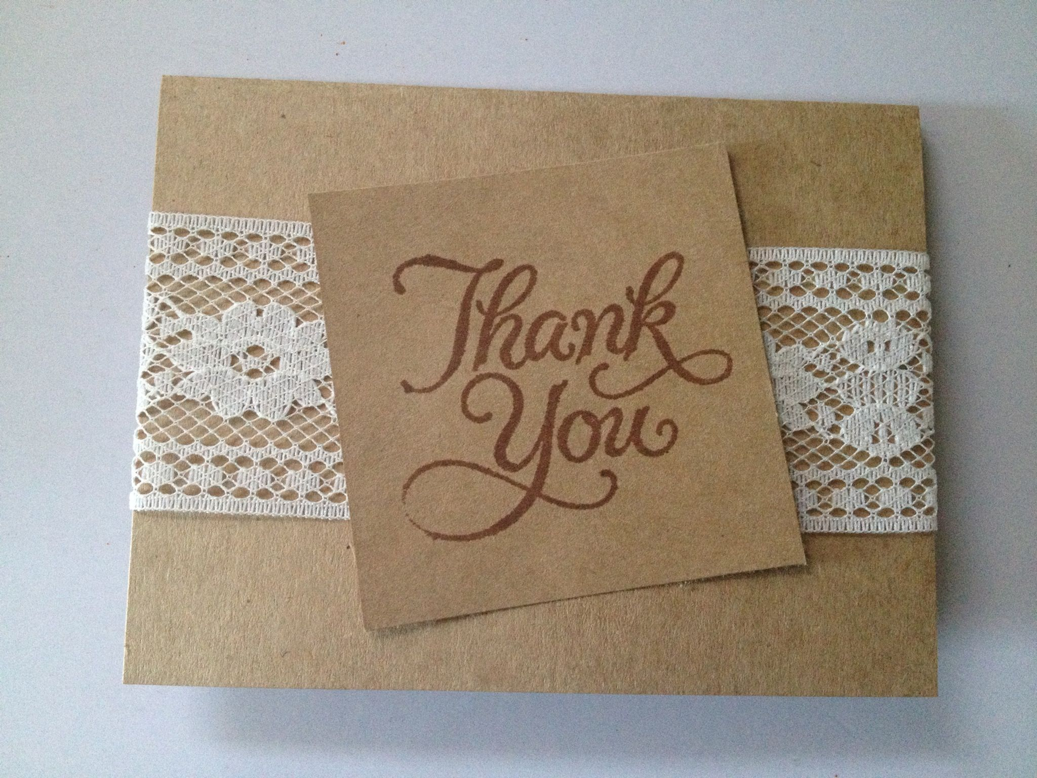 Diy Thank You Cards Cards Pinterest