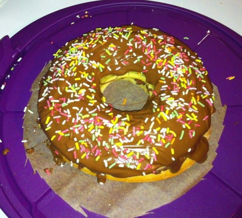 Giant Donut Cake Recipe Uk