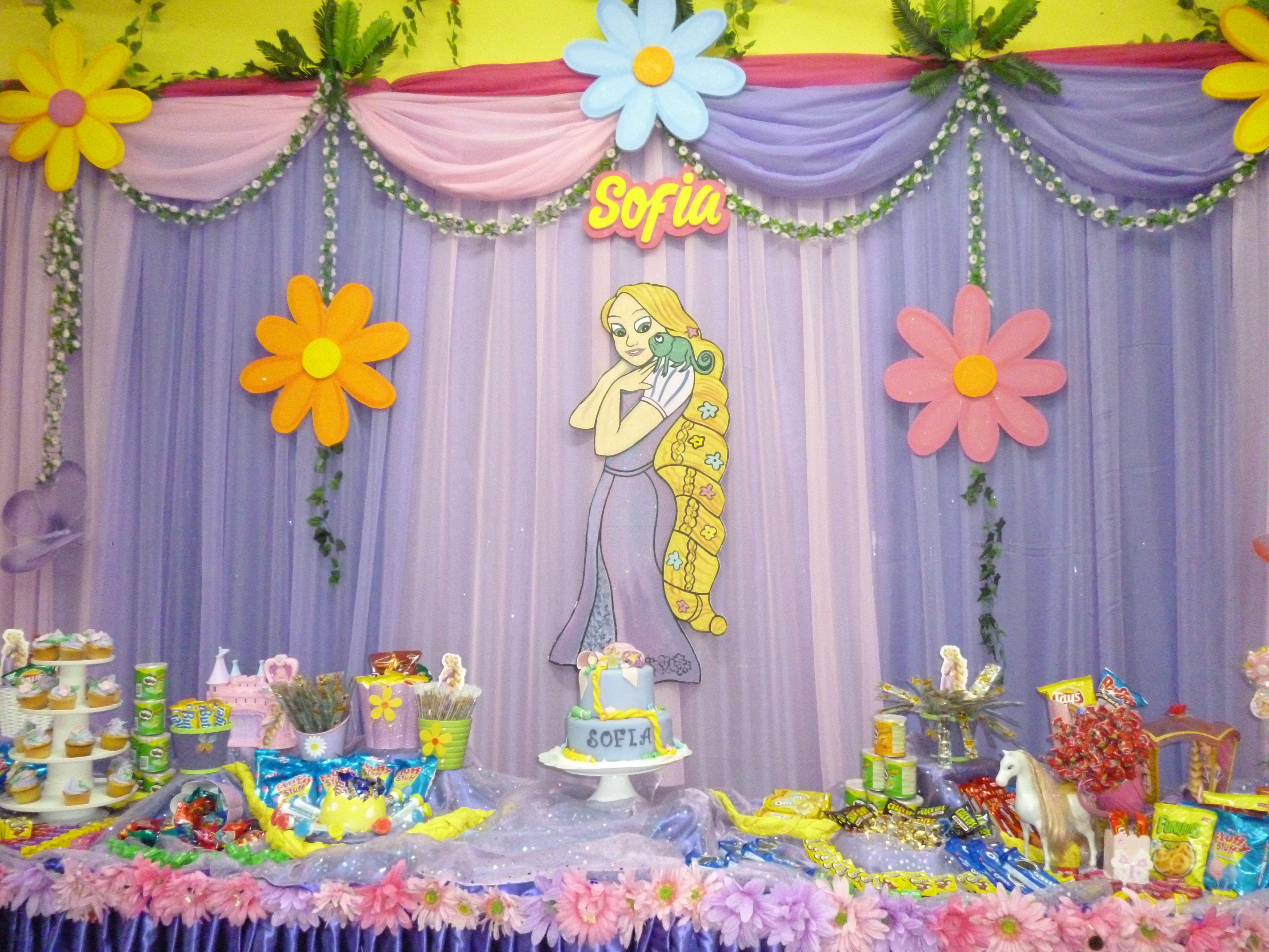 Decoraci n para cumplea os birthday decor ideas - Decoraciones de cumpleanos ...
