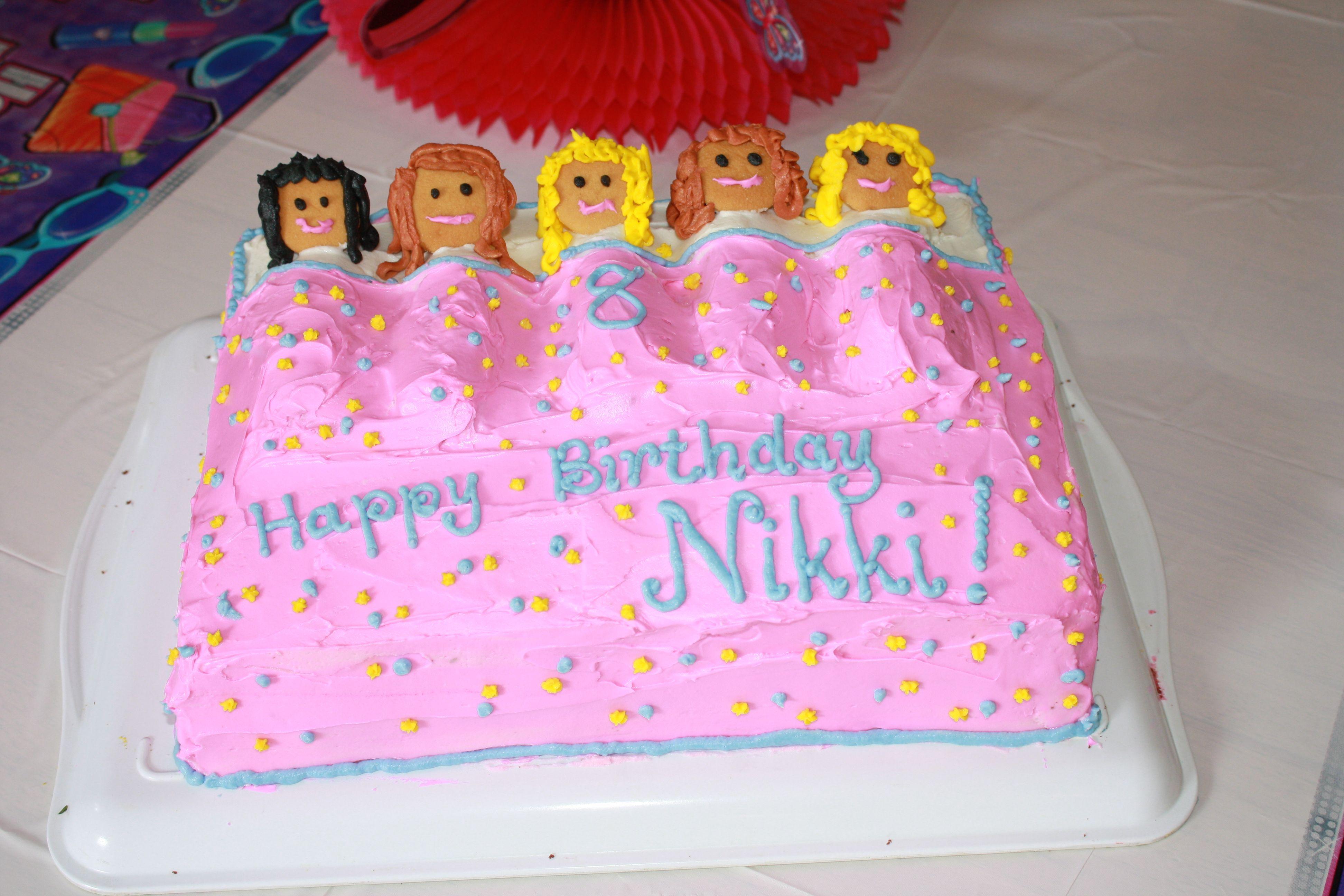 Slumber Party Cake Images : Slumber party birthday cake! Just Desserts! Pinterest