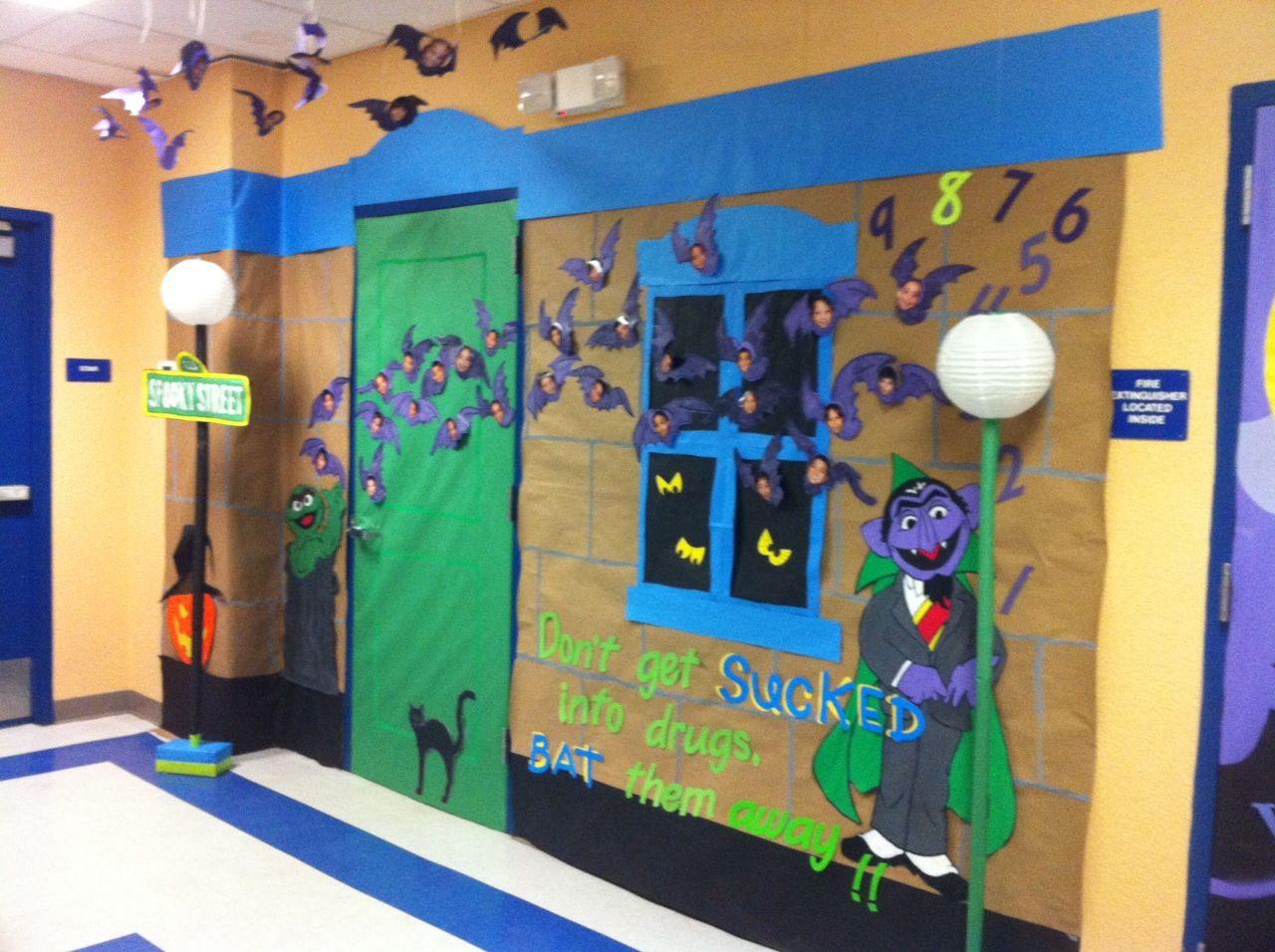 Decorating Ideas > Halloween Door Decoration  Preschool  Pinterest ~ 202211_Halloween Decoration Ideas Preschool