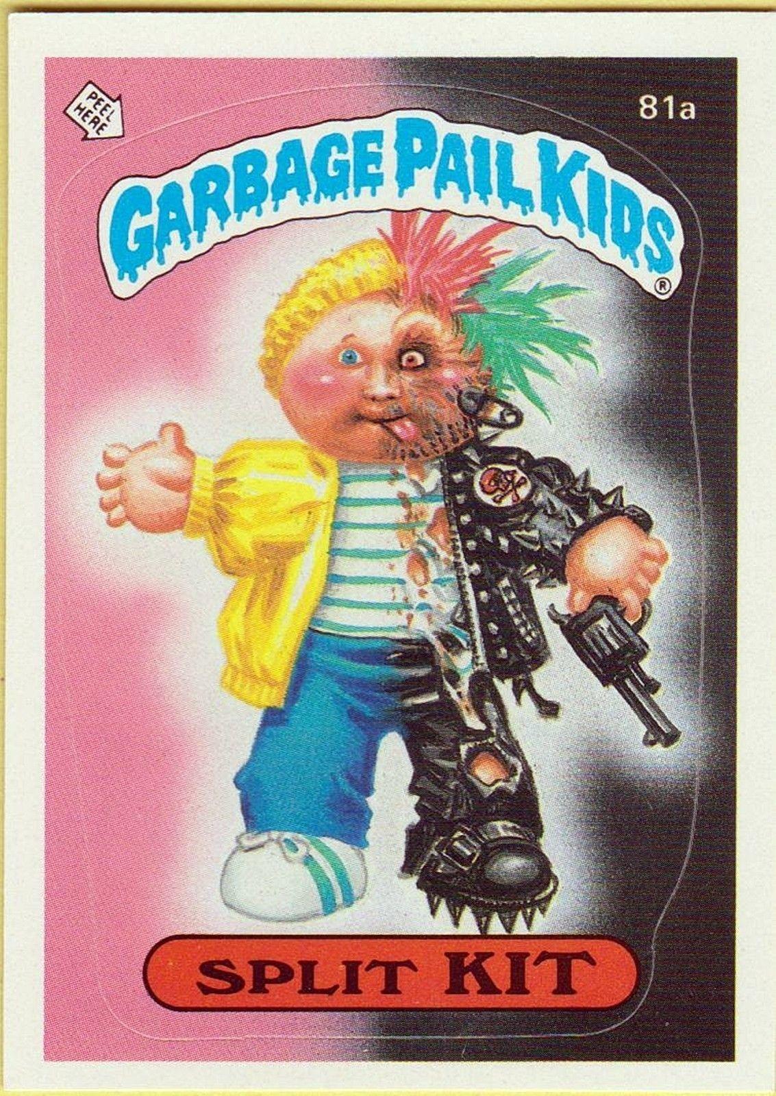 Garbage Pail Kids Garbage Pail Kids Omg Pinterest