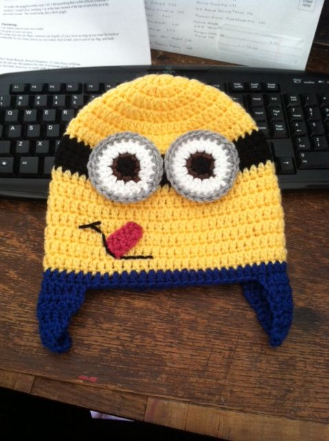 Free Crochet Pattern Minion Baby Booties : 1000+ images about Minion on Pinterest Amigurumi doll ...