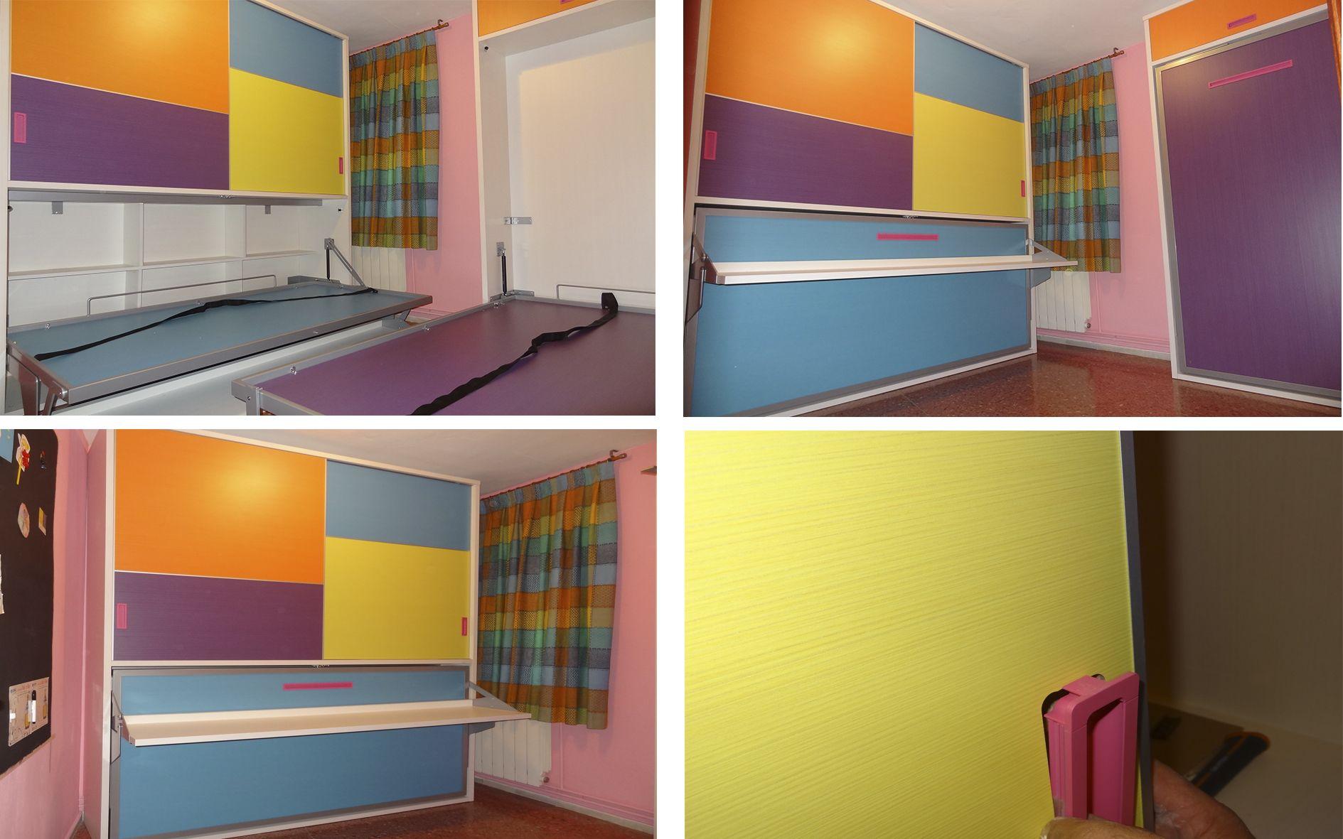 Soluciones para habitaciones juveniles de dimensiones - Soluciones escaleras poco espacio ...