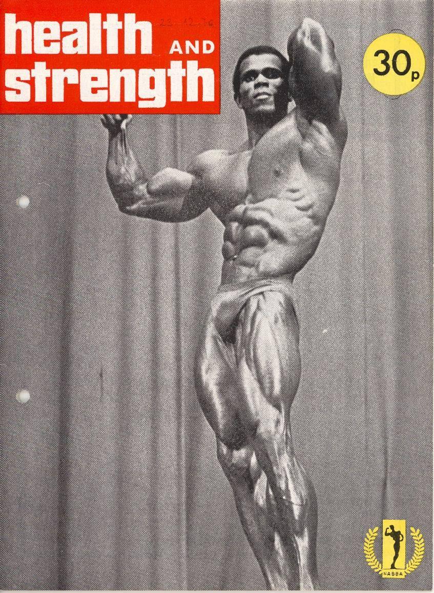Serge Nubret | Vintage Bodybuilding | Pinterest