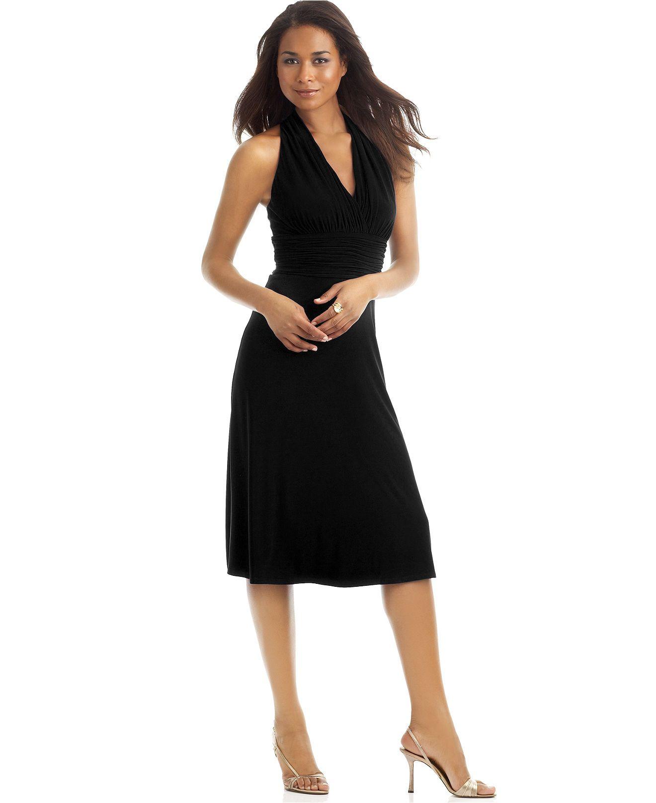 Black bridesmaid dresses macy 39 s discount wedding dresses for Macy s dresses for weddings