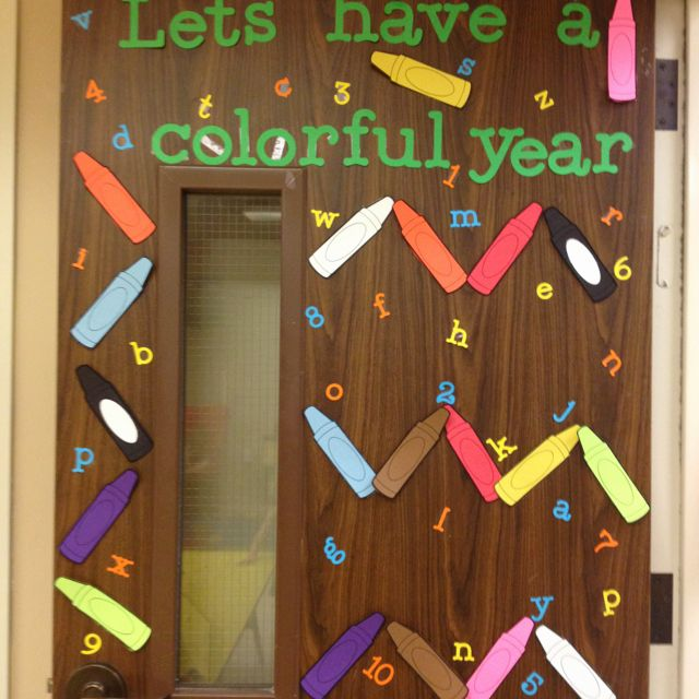 Classroom door for back to school back to school door for Back to school door decoration