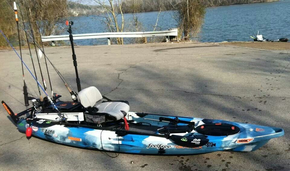 Feelfree lure 11 5 kayak fishing pinterest for Feelfree lure 11 5 with trolling motor