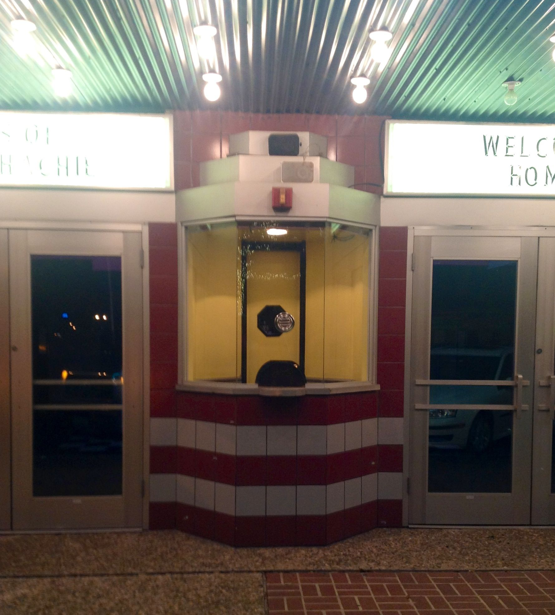 how to draw a ticket booth
