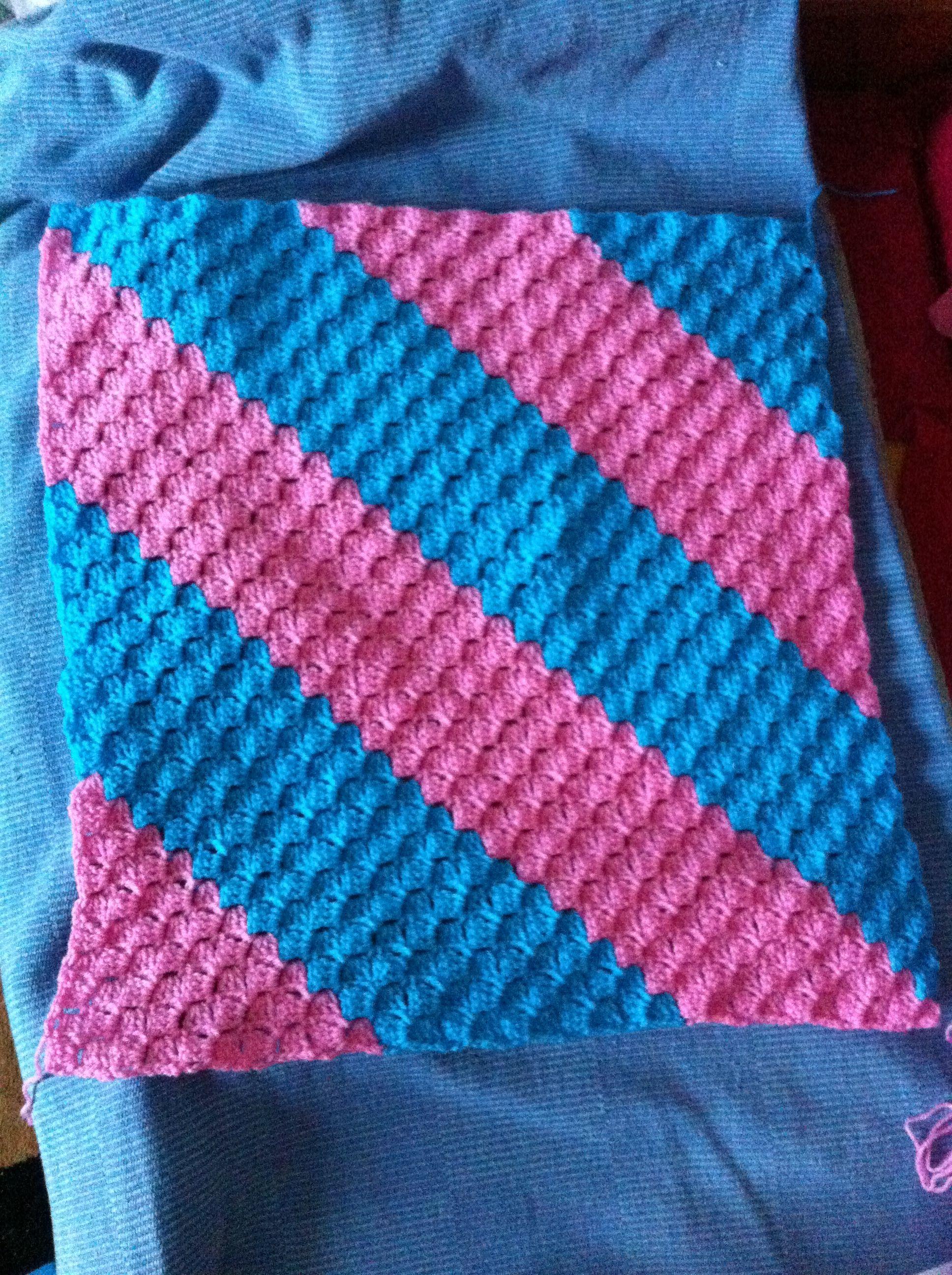 Crocheting C2c : C2C blanket Crochet Projects Pinterest