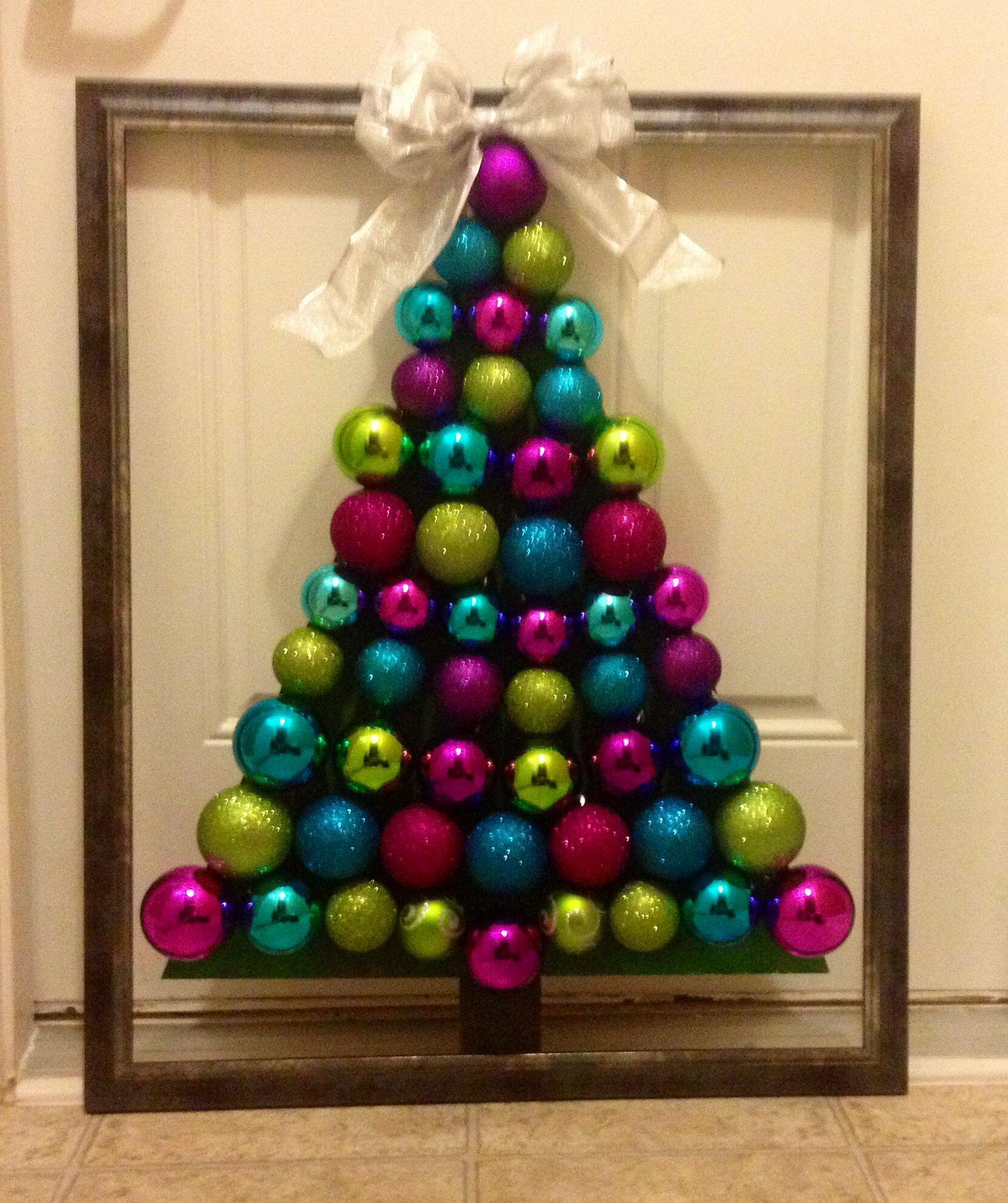 Christmas Ornament Tree Door Decoration Craft Ideas