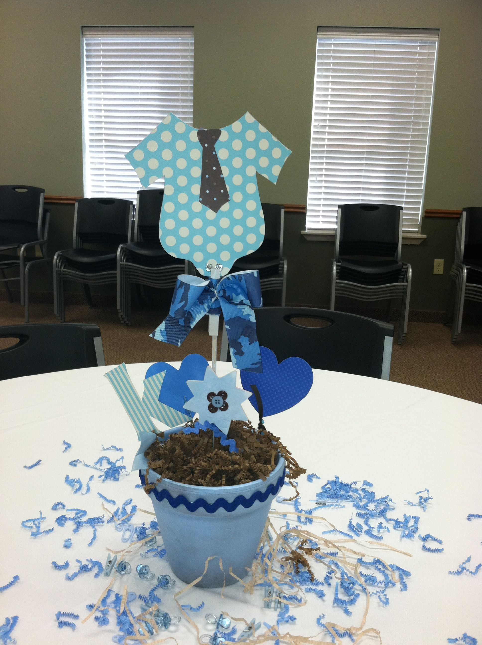 baby shower centerpiece baby boy baby shower ideas pinterest