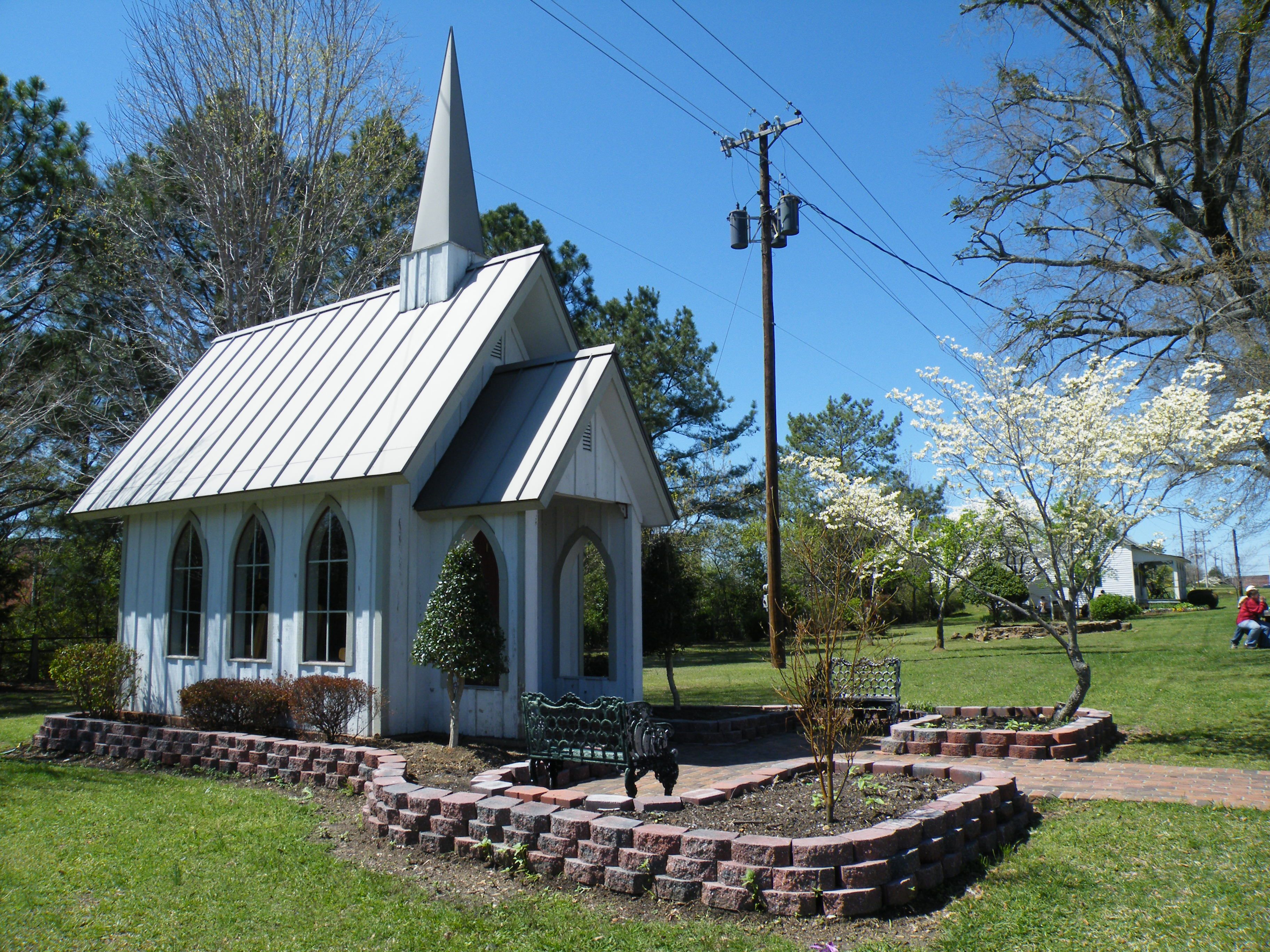 Small Chapel Country House Pinterest