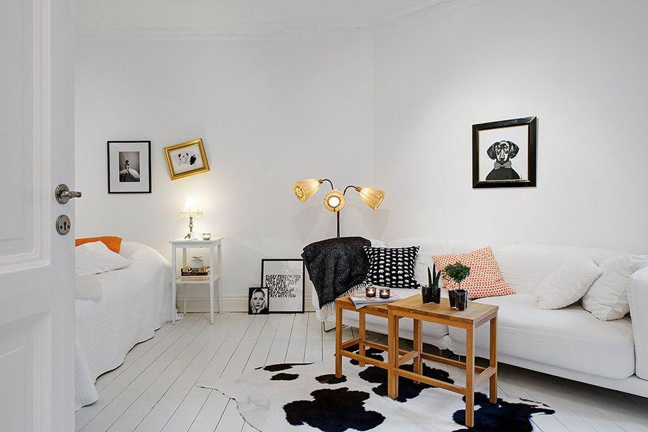 Small studio apartment  Studio/loft apartment  Pinterest