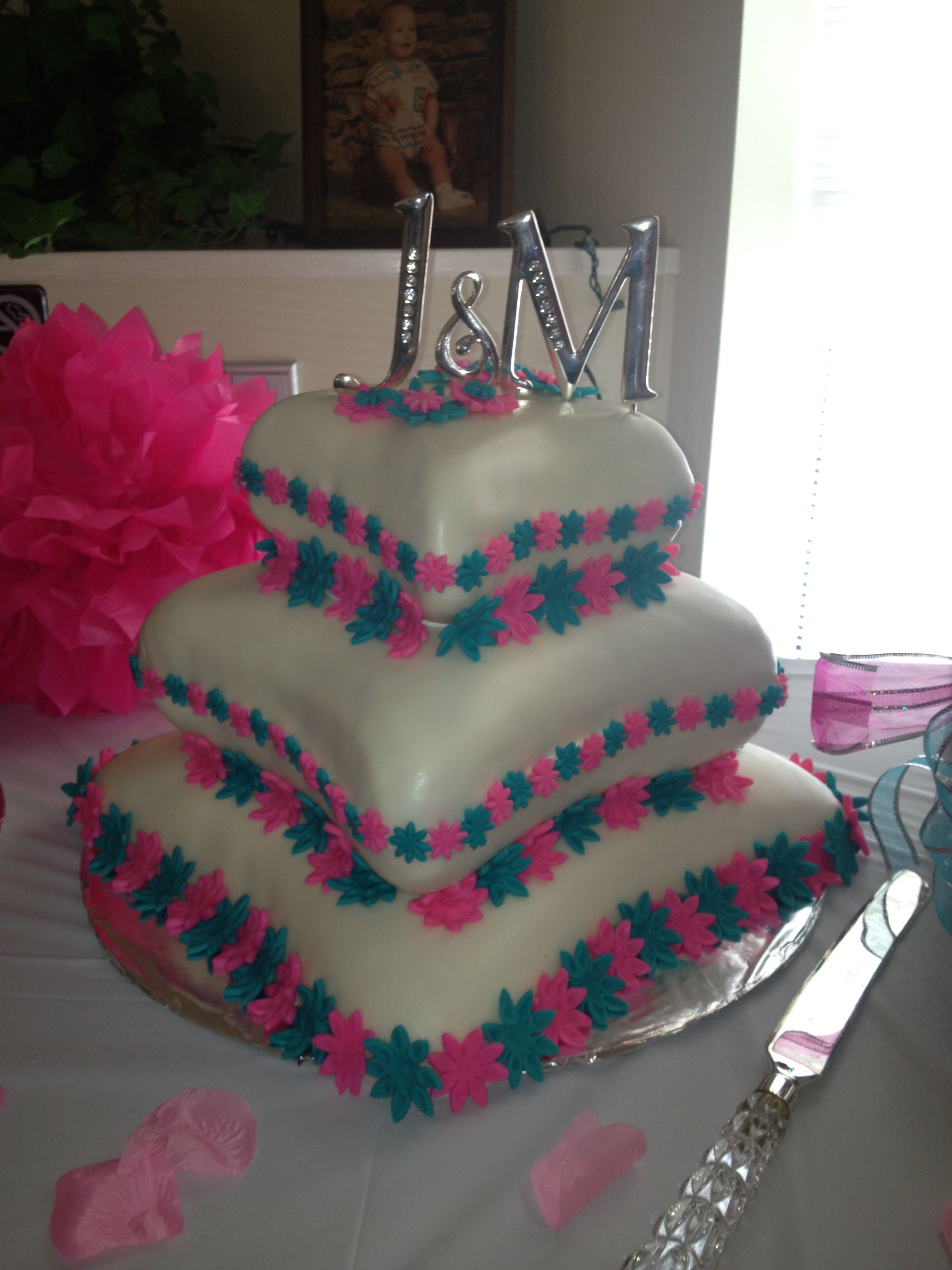 Pin by Trish on Pink and Tiffany Blue wedding