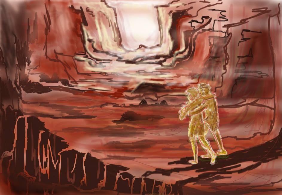 Percabeth in Tartarus   Percy Jackson   Pinterest