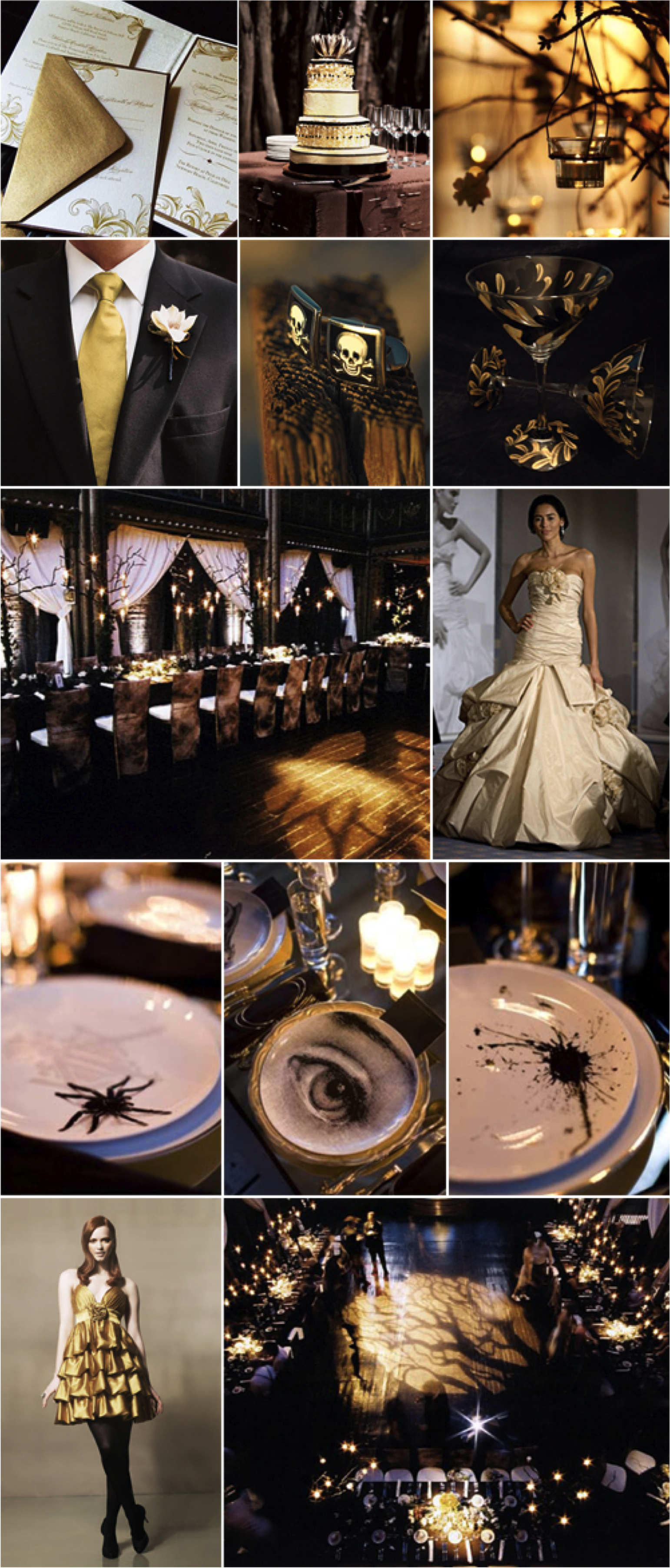 Elegant Halloween Decorations All Hallows Eve Pinterest