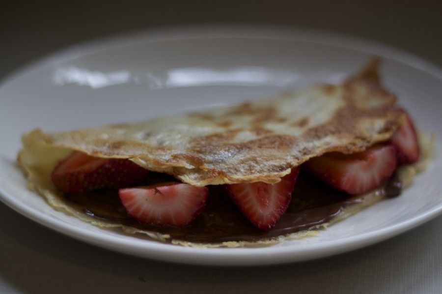 Strawberry And Nutella Crepes Recipes — Dishmaps