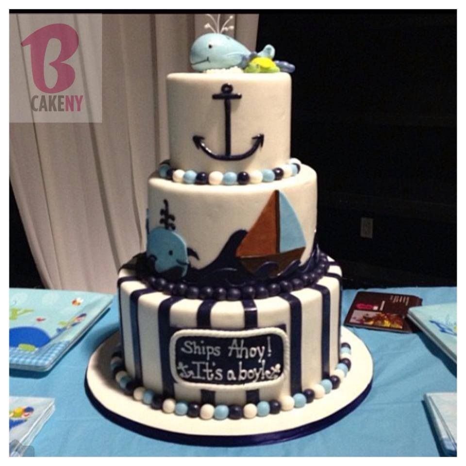 nautical cake food pinterest