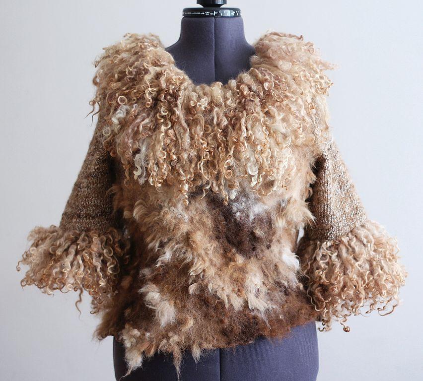 Felting coat 6