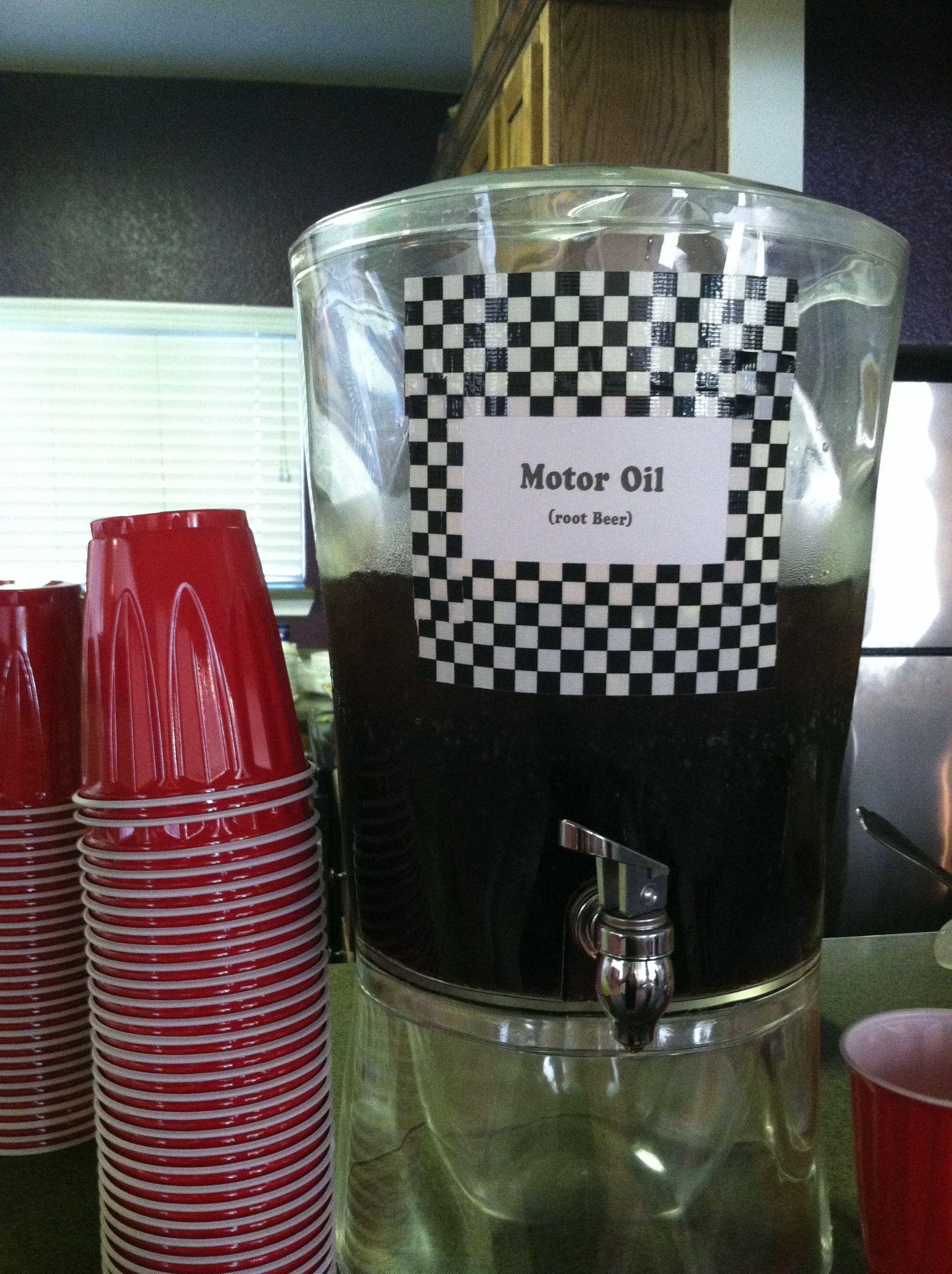 Motor Oil Rootbeer Drink Drinks Pinterest