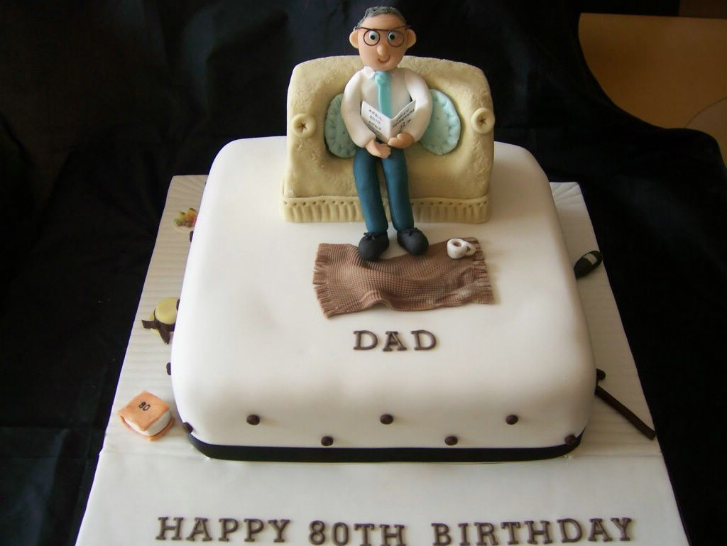 Th Birthday Cake For Father Ideas