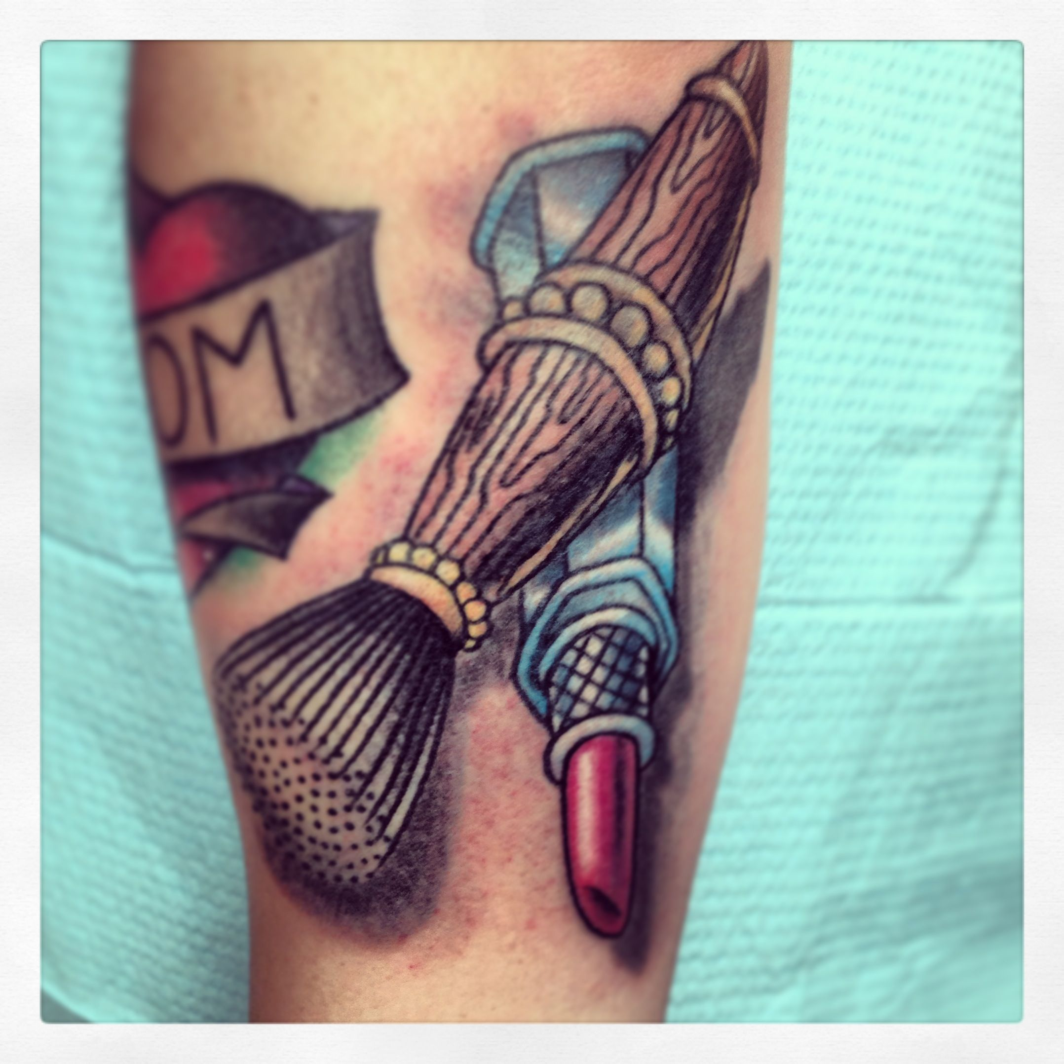 makeup artist tattoo ideas - photo #11