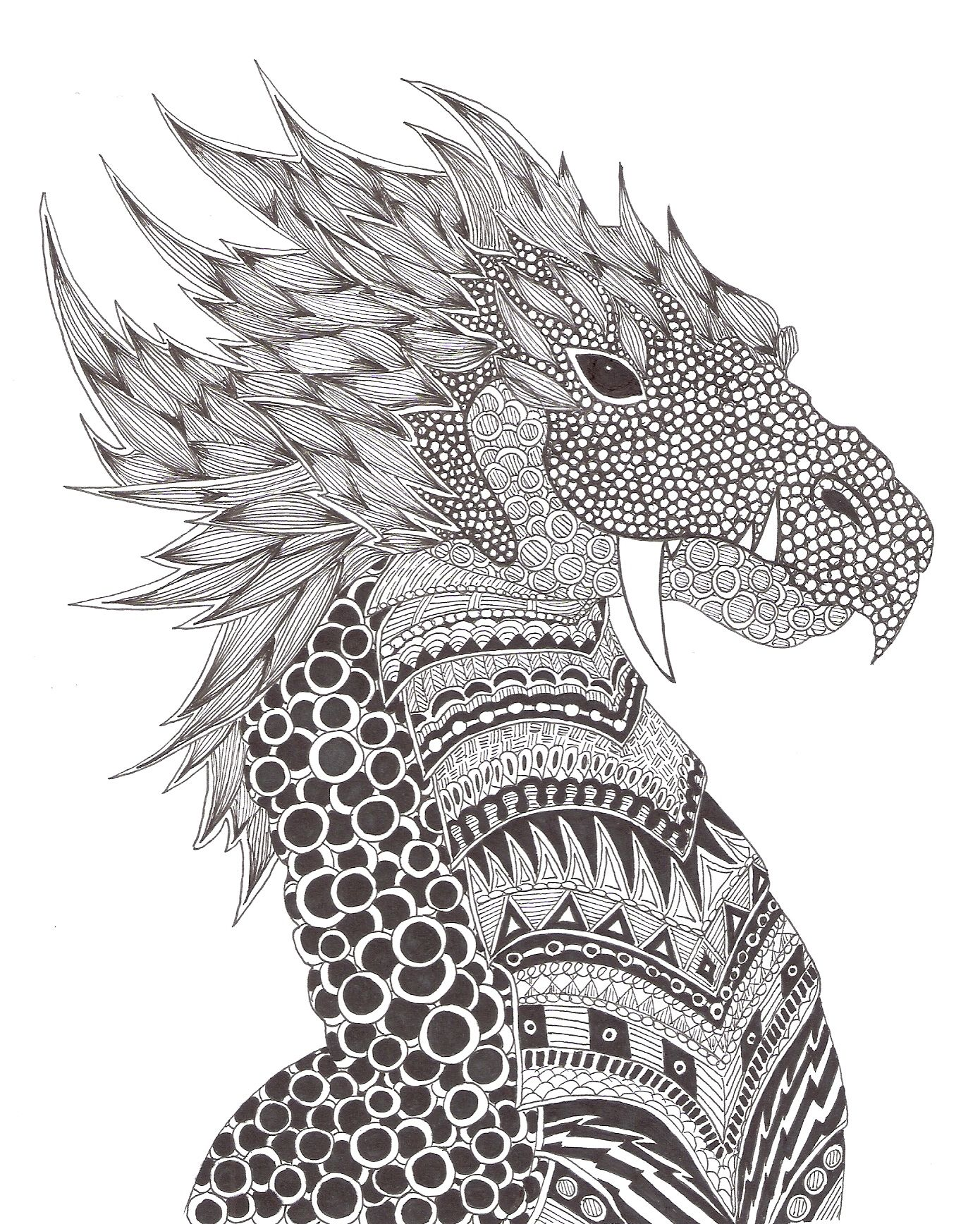 Zentangle Made By Mariska Den Boer 149