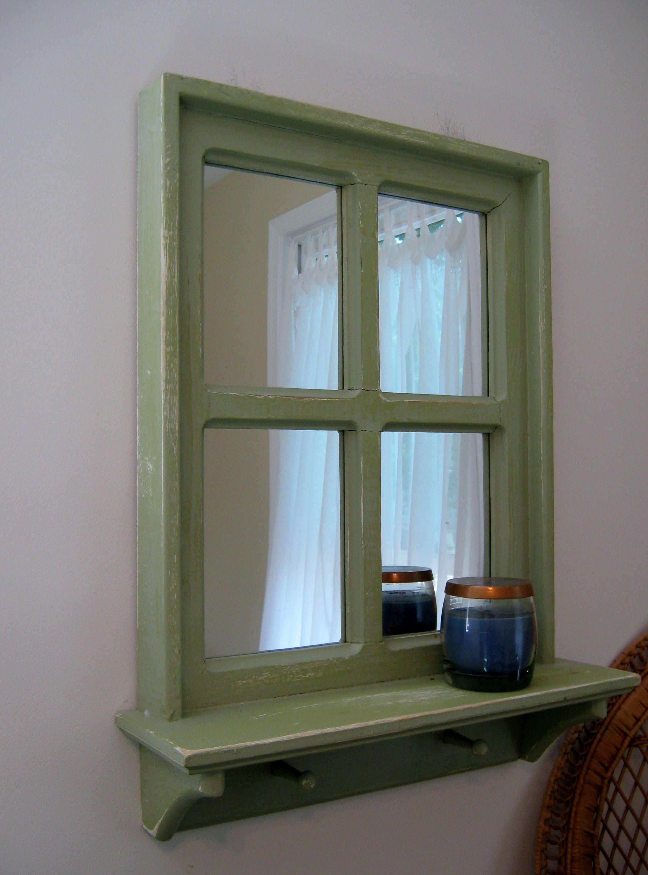 20 Quot X 26 Quot Window Frame Mirror Pine Terrace Treasures