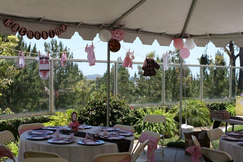 Baby shower clothesline event party ideas pinterest for Baby shower clothesline decoration