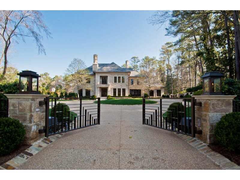 Atlanta Mansion ATL Luxury Homes Pinterest