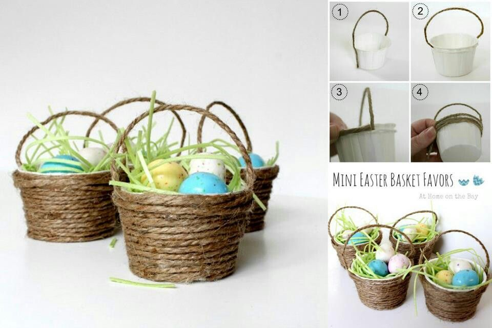 Easter basket diy craft ideas pinterest - Easter basket craft ideas ...
