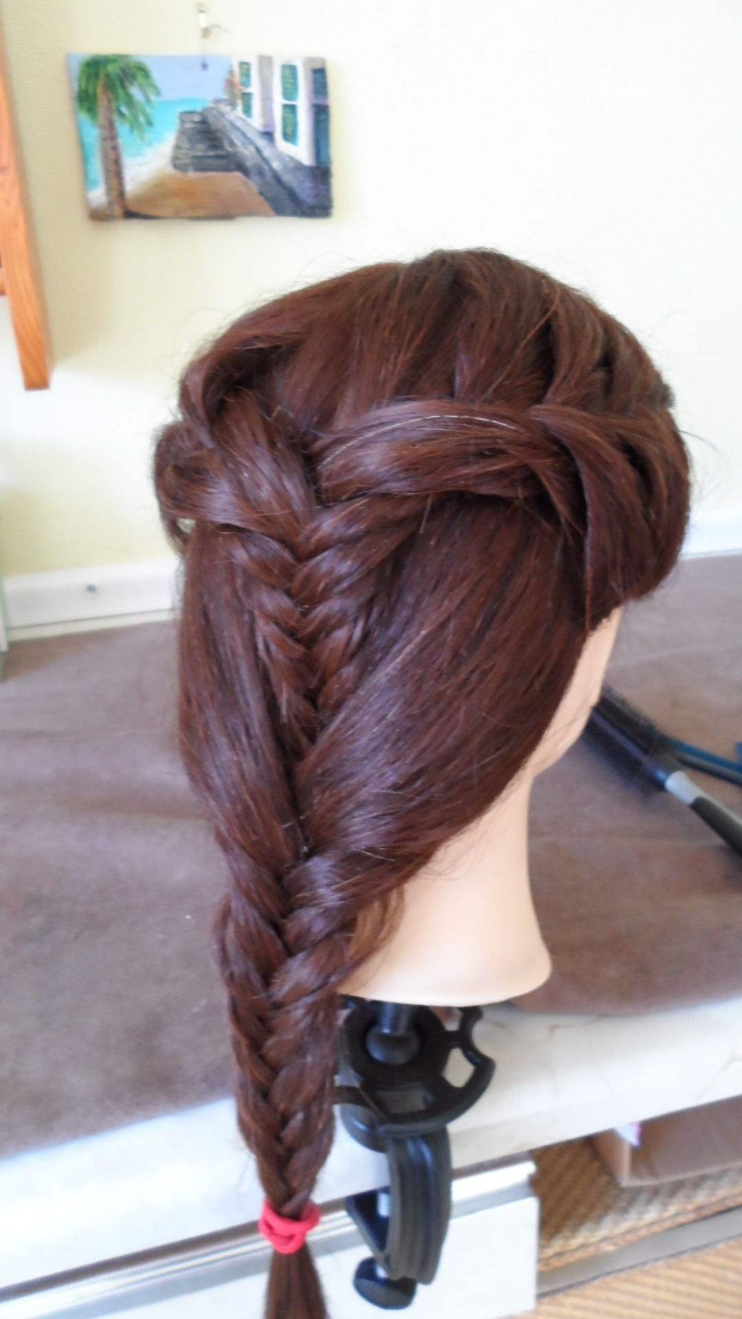 Sks ren hair fallout style