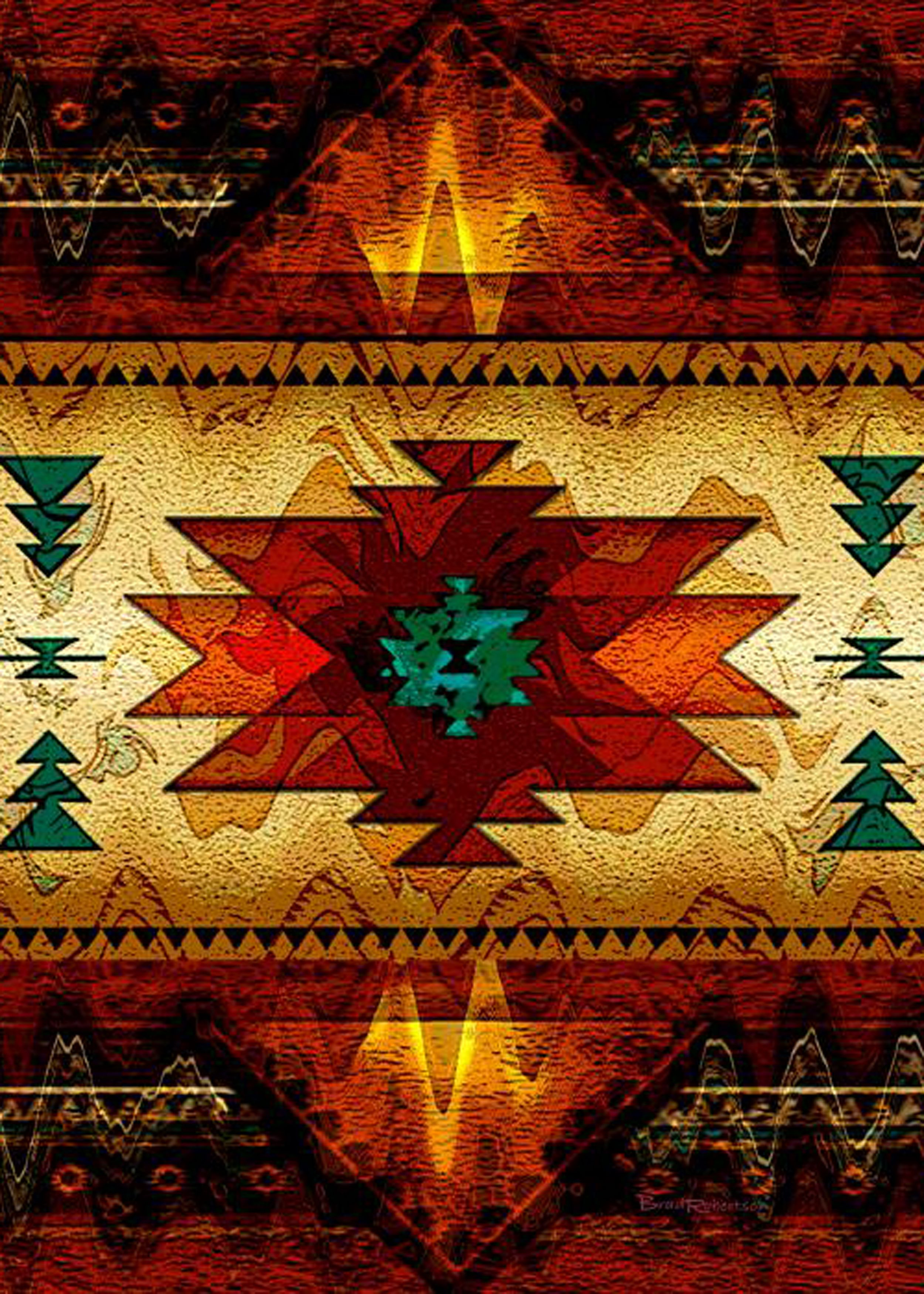 native indian art patterns
