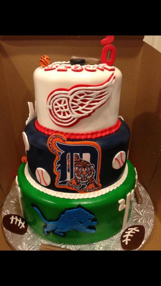 Detroit Red Wings Cake Pan