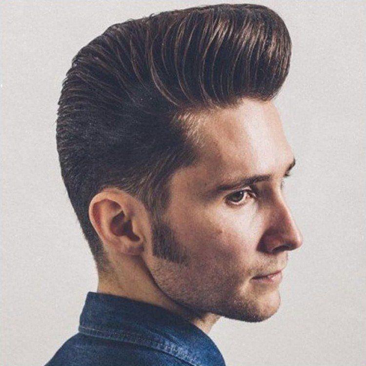 coiffure homme banane