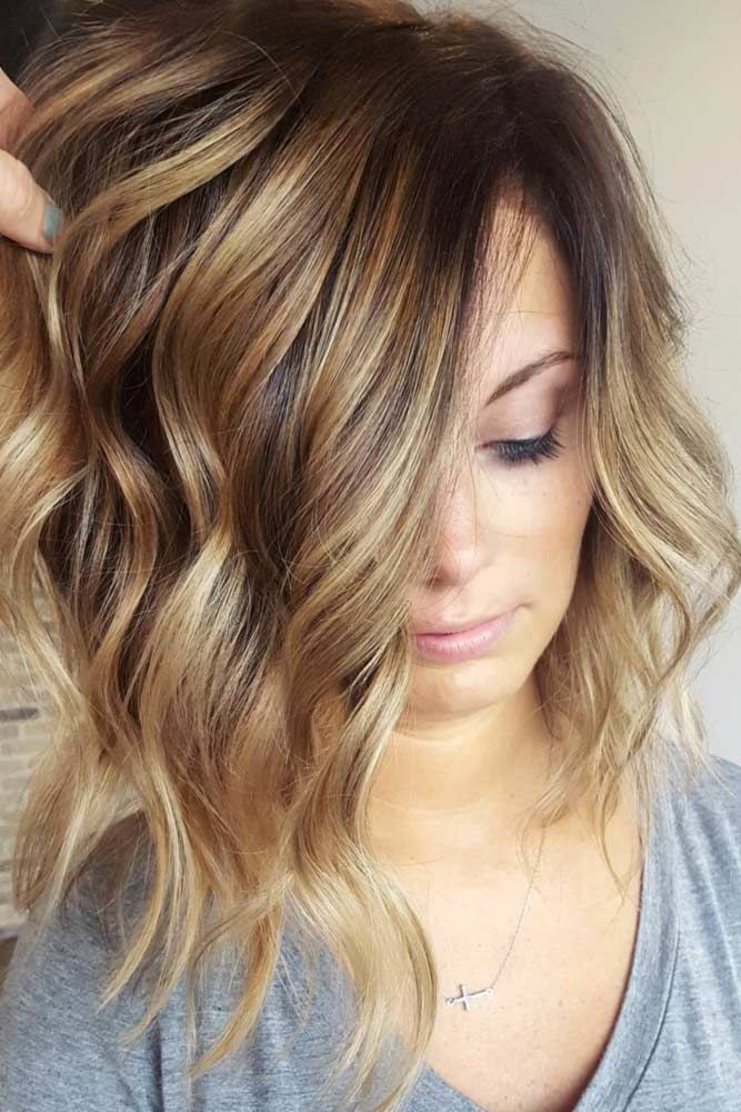 Best long light brown hair with blonde highlights ideas