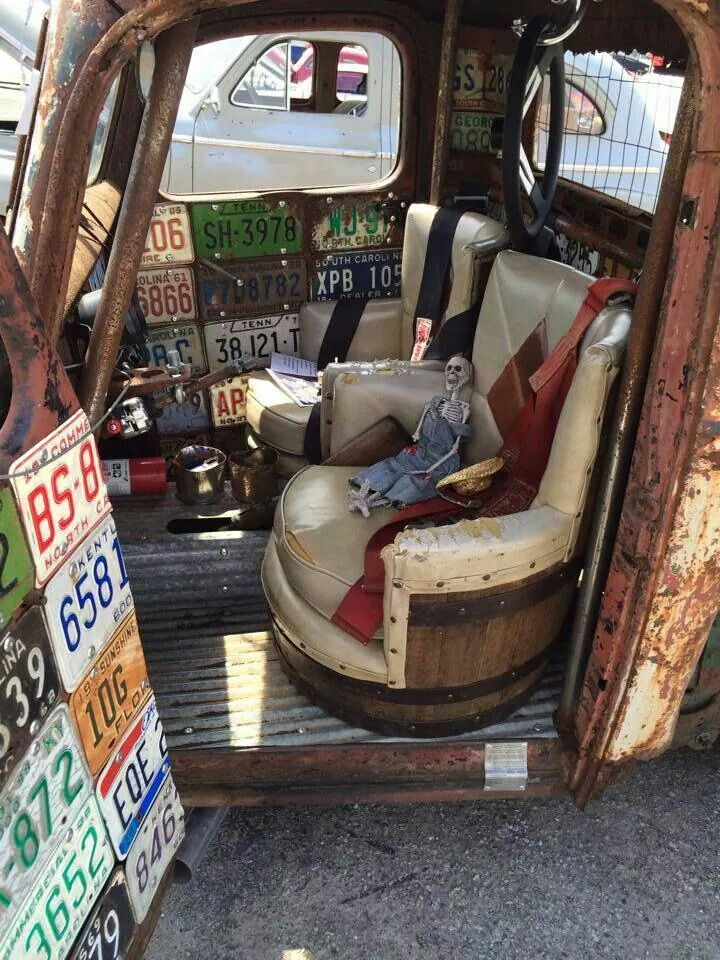 rat rod seat ideas pictures to pin on pinterest pinsdaddy. Black Bedroom Furniture Sets. Home Design Ideas