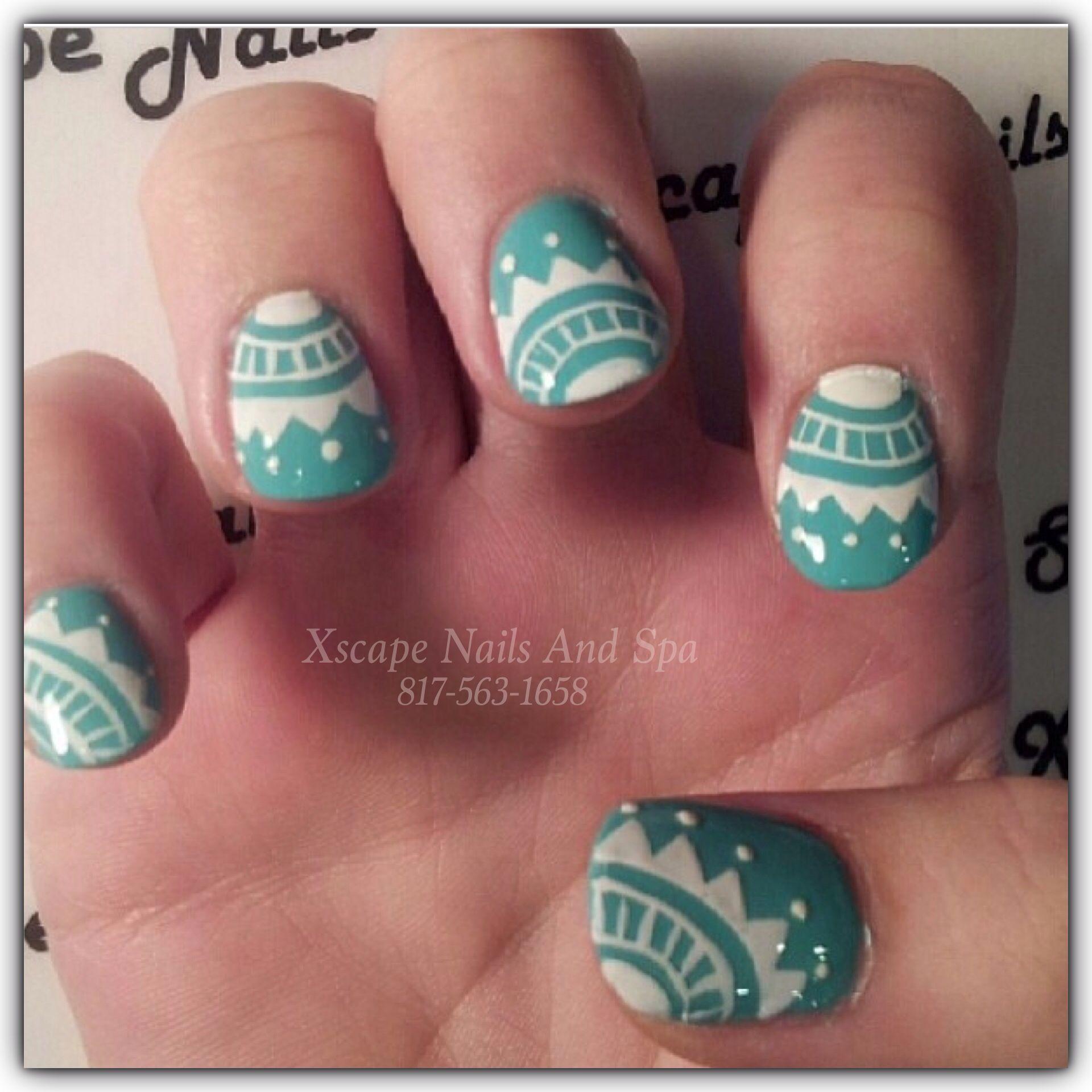 Aztec Toe Nail Designs - Nails Gallery