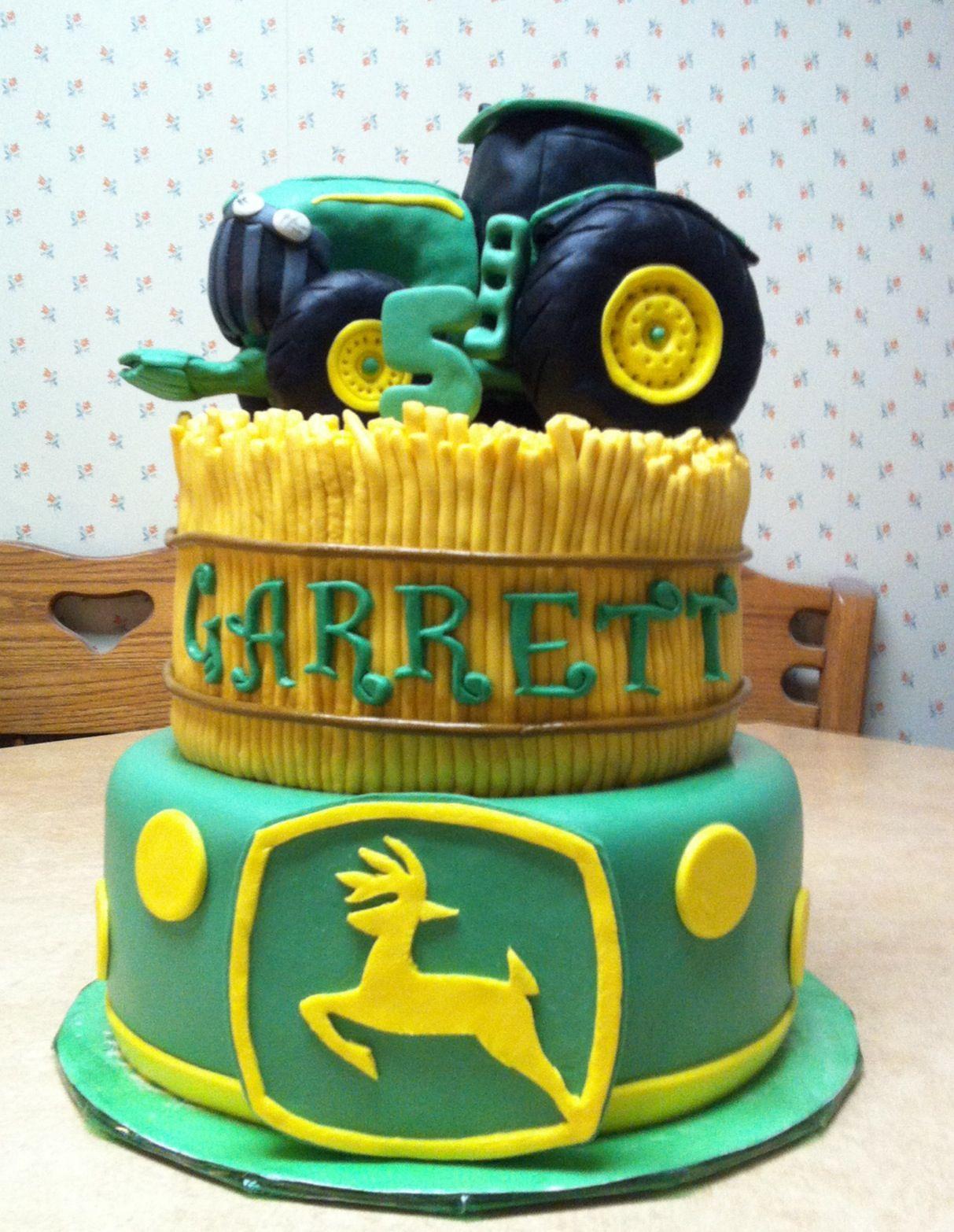 John Deere Graduation Cake Topper