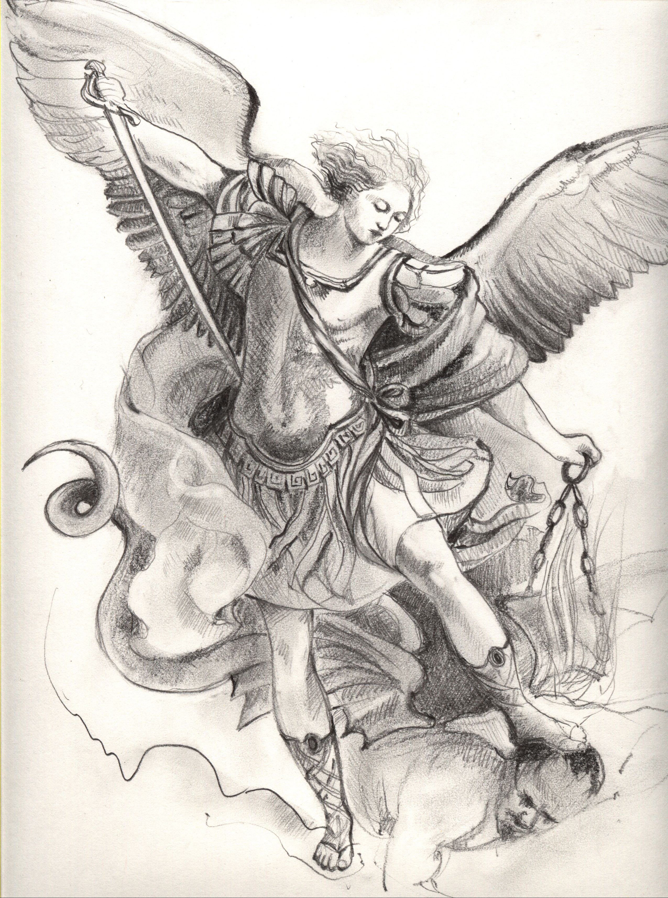 1000+ images about st Michael tattoo ideas on Pinterest ...