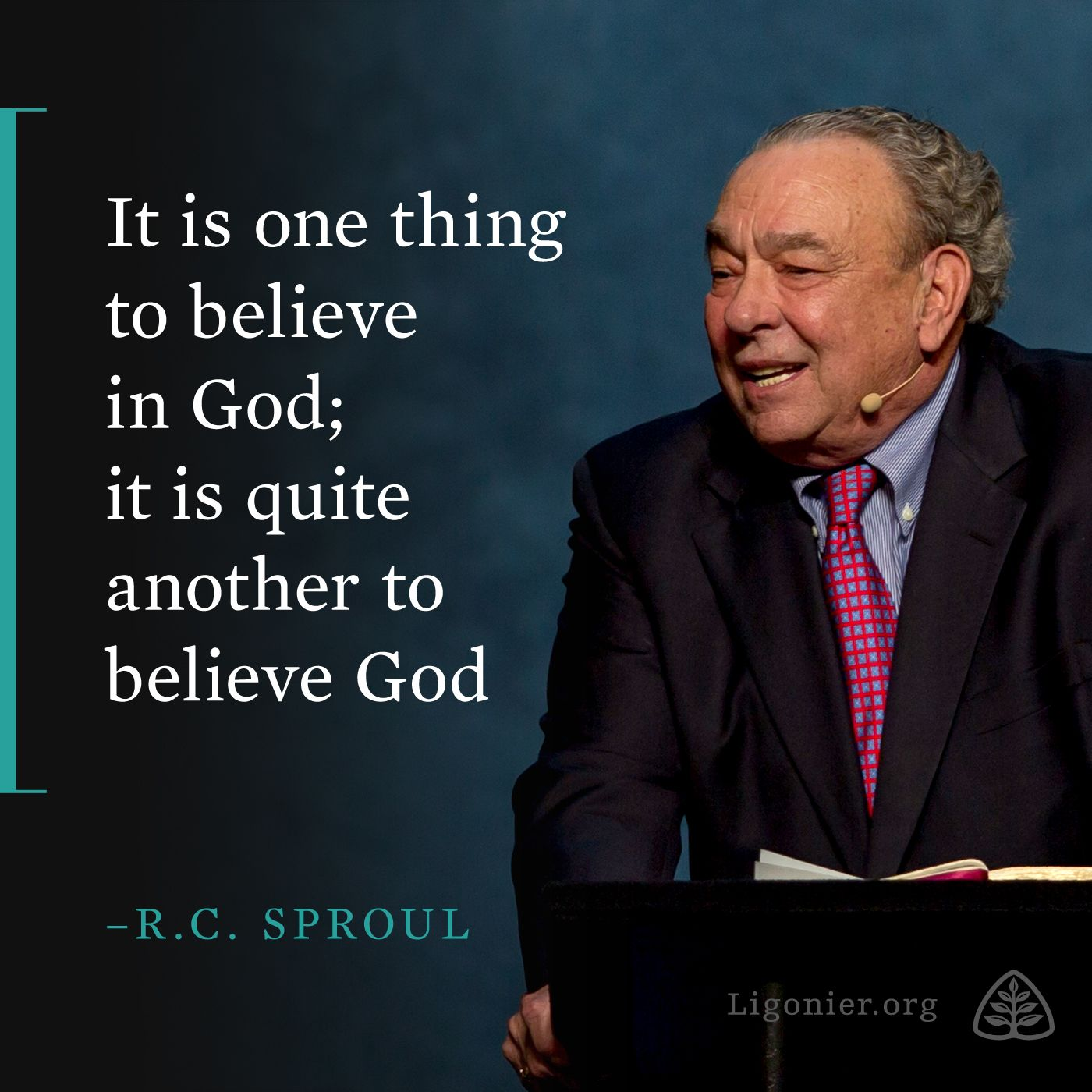 If there is one single molecule in this by R C Sproul ...