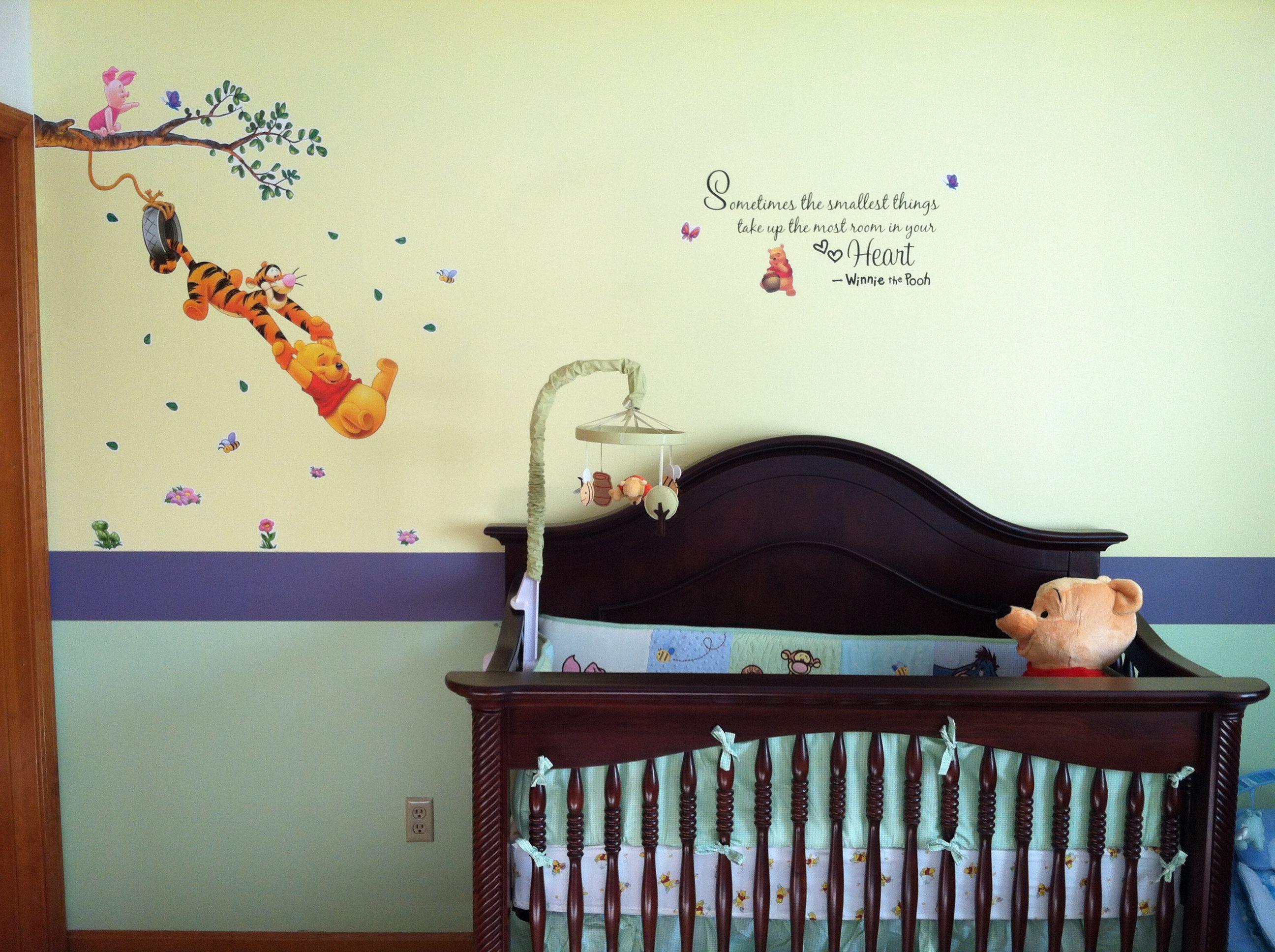 winnie the pooh nursery kristie pinterest. Black Bedroom Furniture Sets. Home Design Ideas