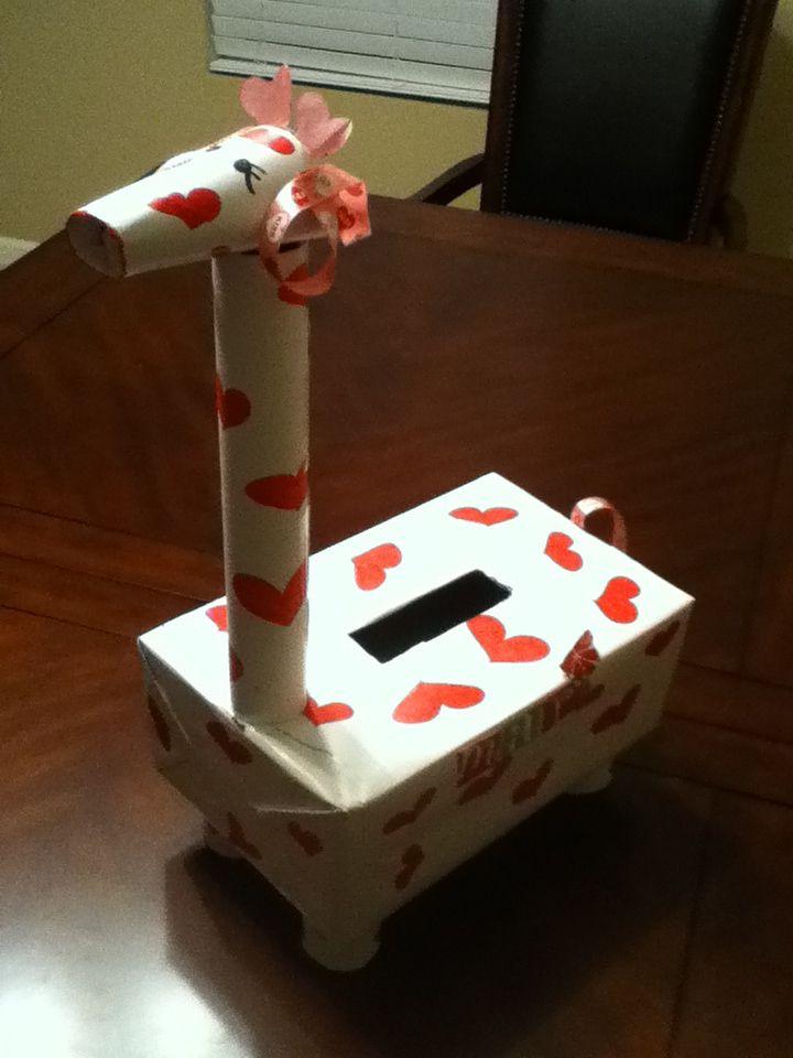 giraffe valentine box