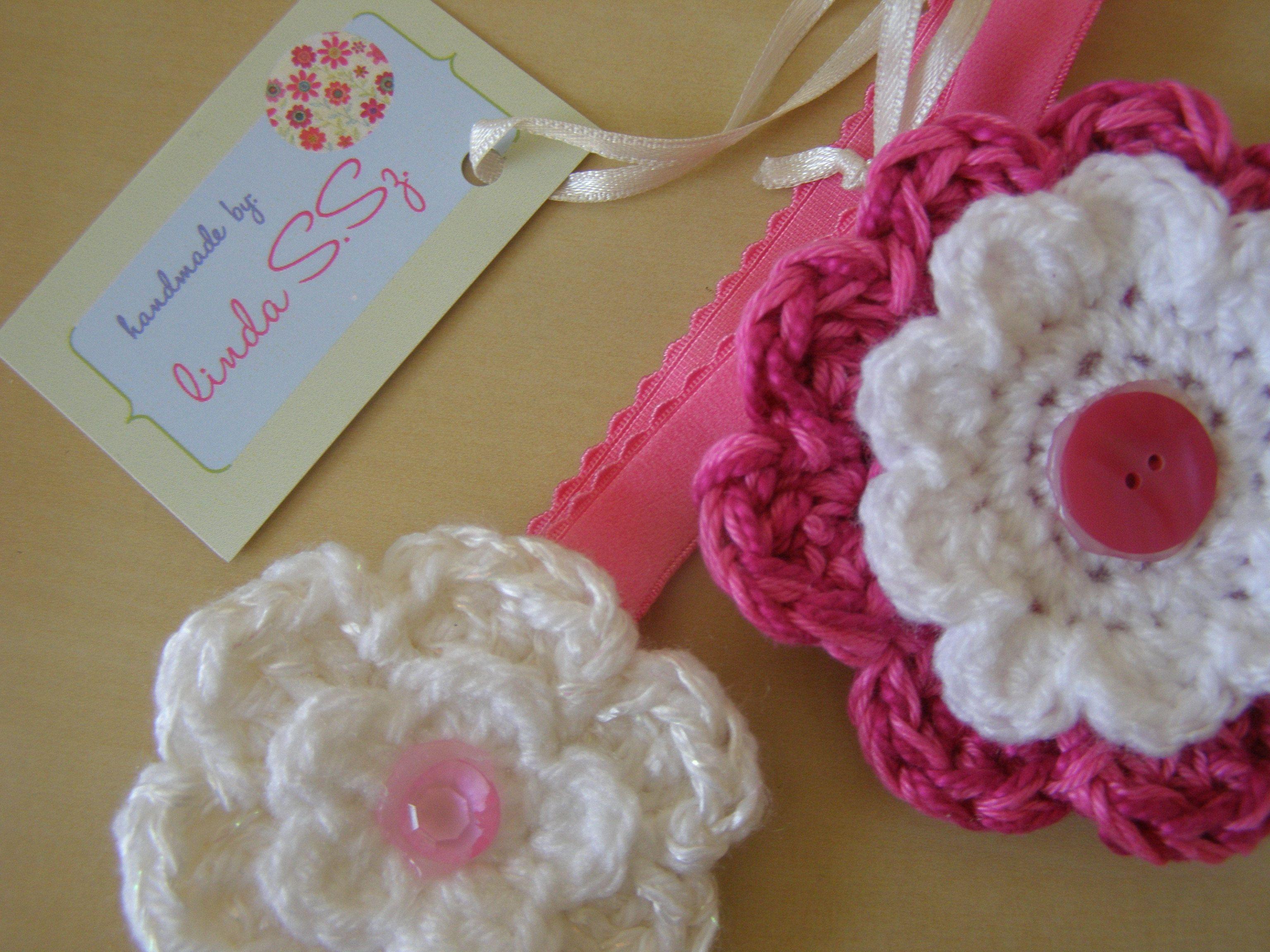 Crochet hair accessories Crochet 4 Pinterest