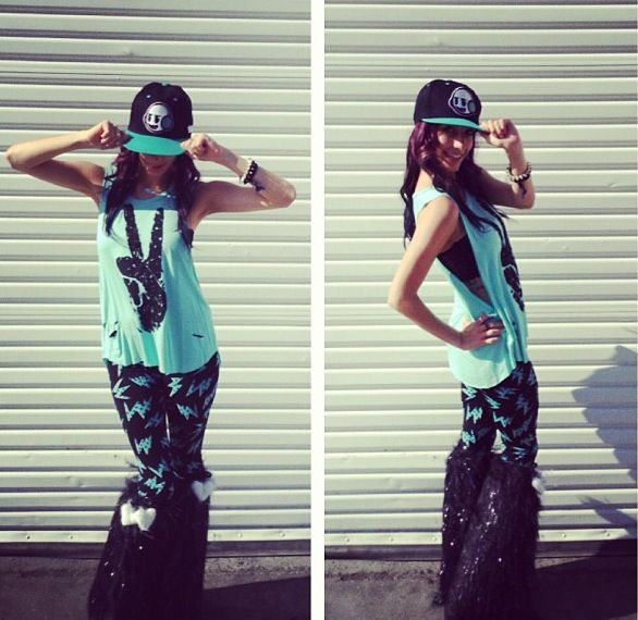 #raveoutfit cute rave outfit | School cool | Pinterest